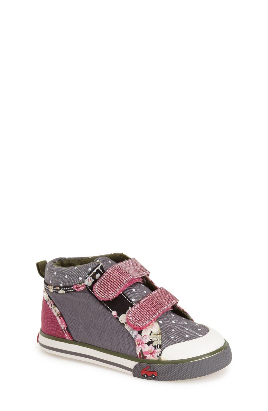 'Kya' High TopSneaker,                             Main thumbnail 1, color,                             020