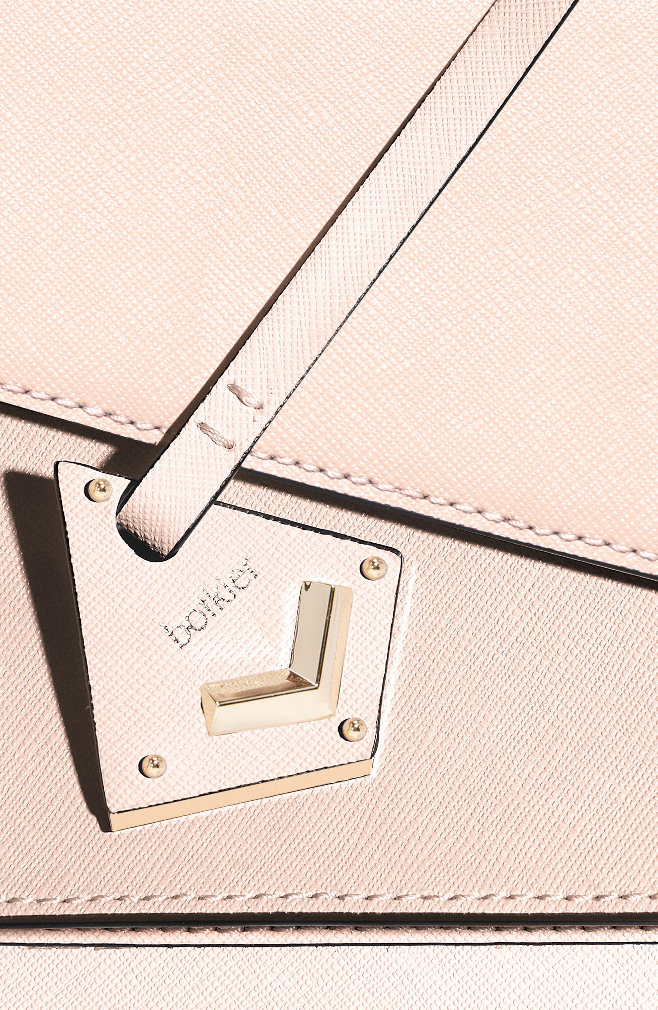Cobble Hill Leather Crossbody Bag,                             Alternate thumbnail 111, color,