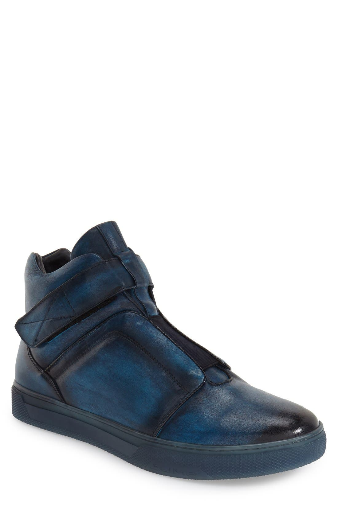 Jump Scully High Top Sneaker- Blue
