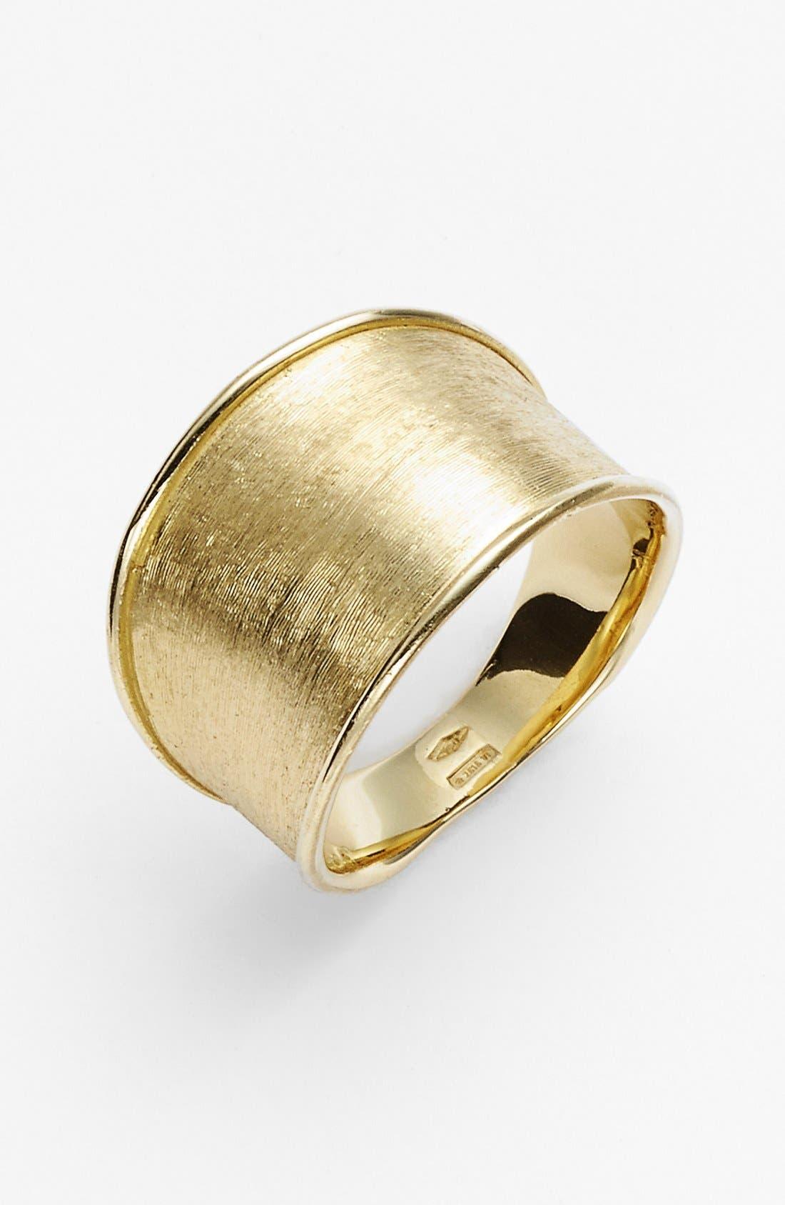 'Lunaria' Band Ring,                             Main thumbnail 1, color,                             YELLOW GOLD