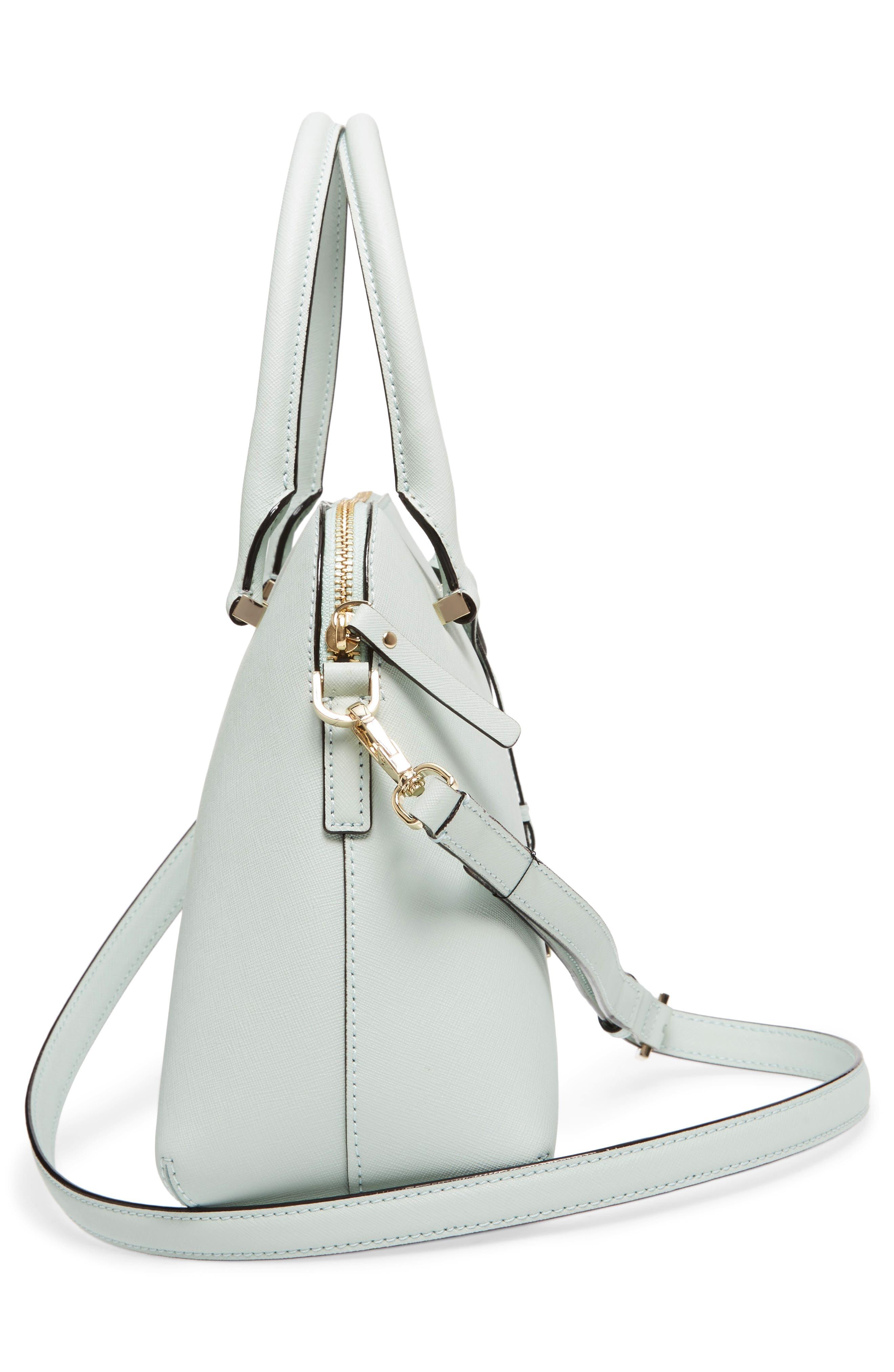 cameron street maise leather satchel,                             Alternate thumbnail 5, color,                             302
