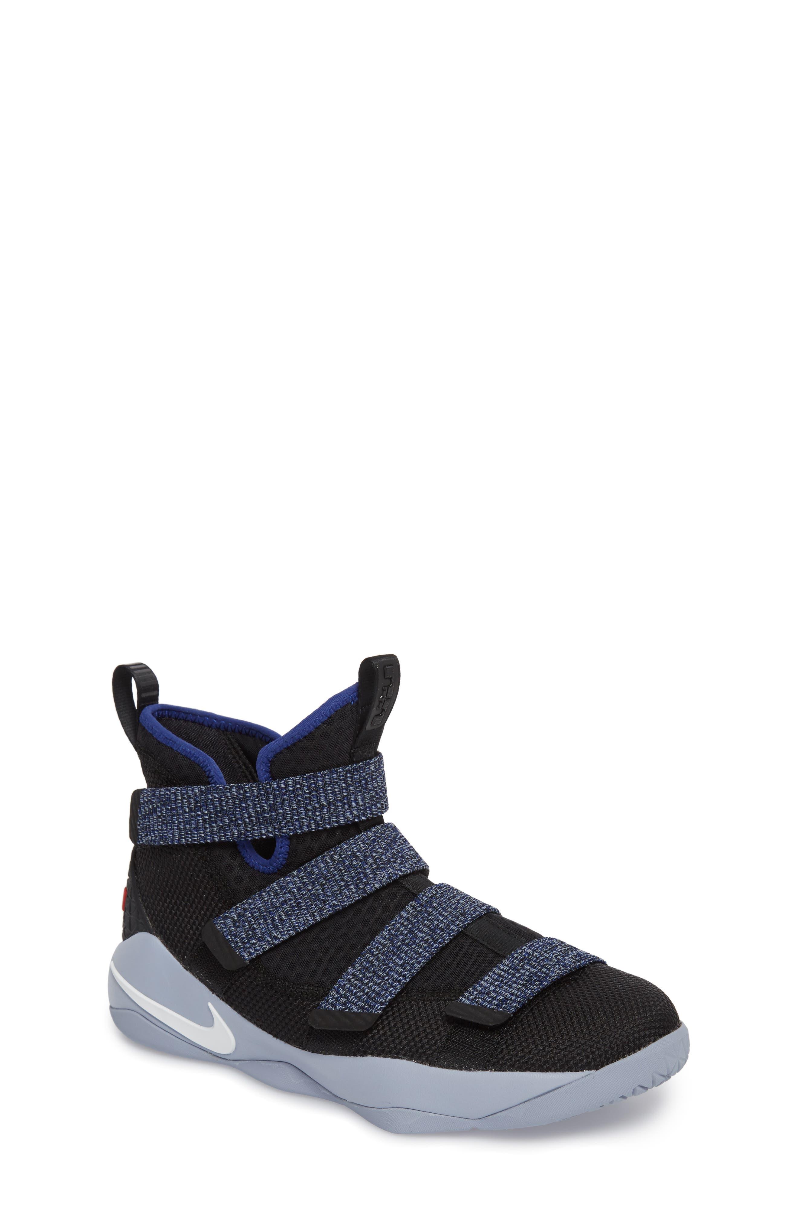NIKE LeBron Soldier XI Basketball Shoe, Main, color, 005