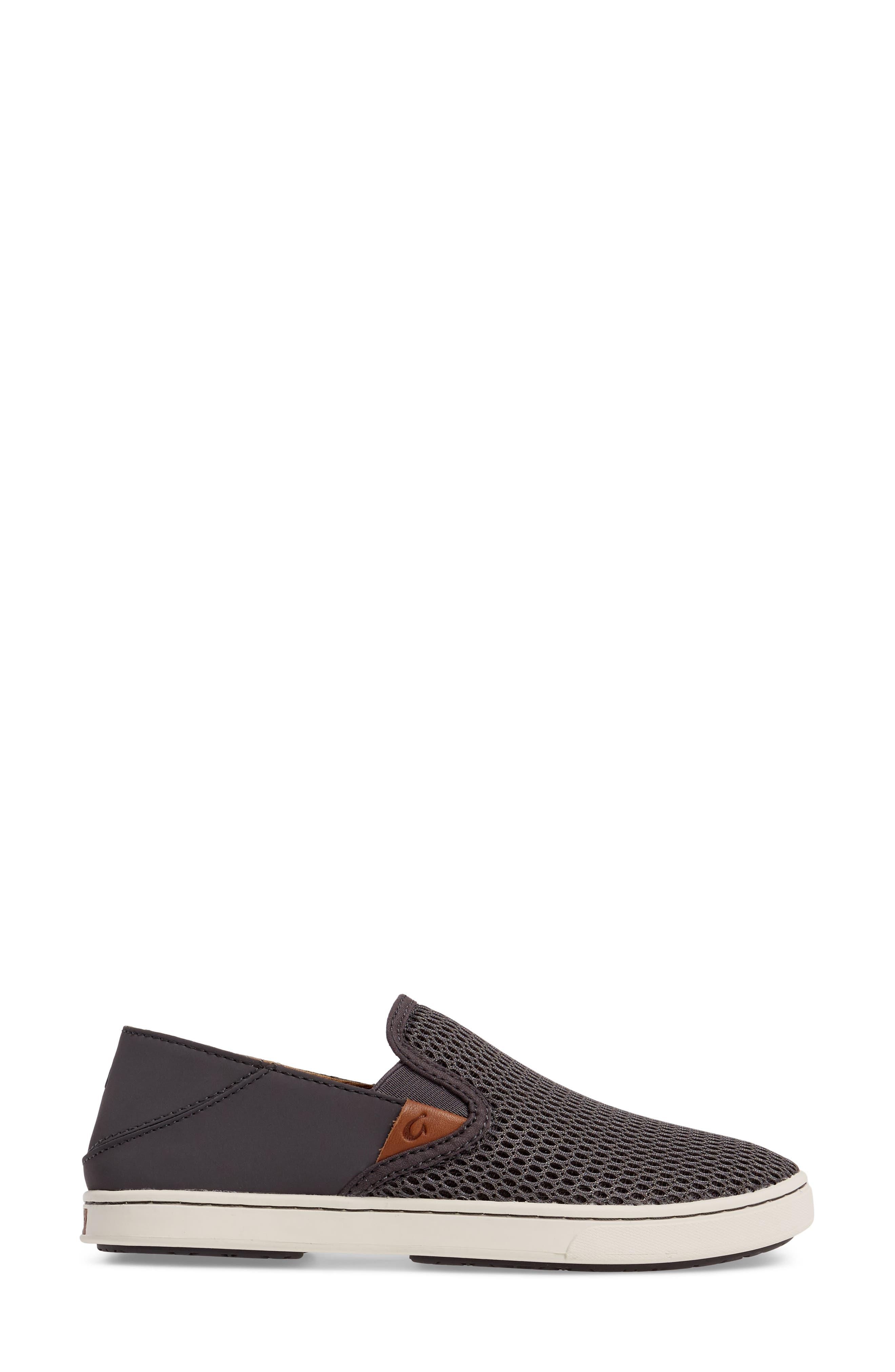 'Pehuea' Slip-On Sneaker,                             Alternate thumbnail 3, color,                             PAVEMENT/ PAVEMENT FABRIC