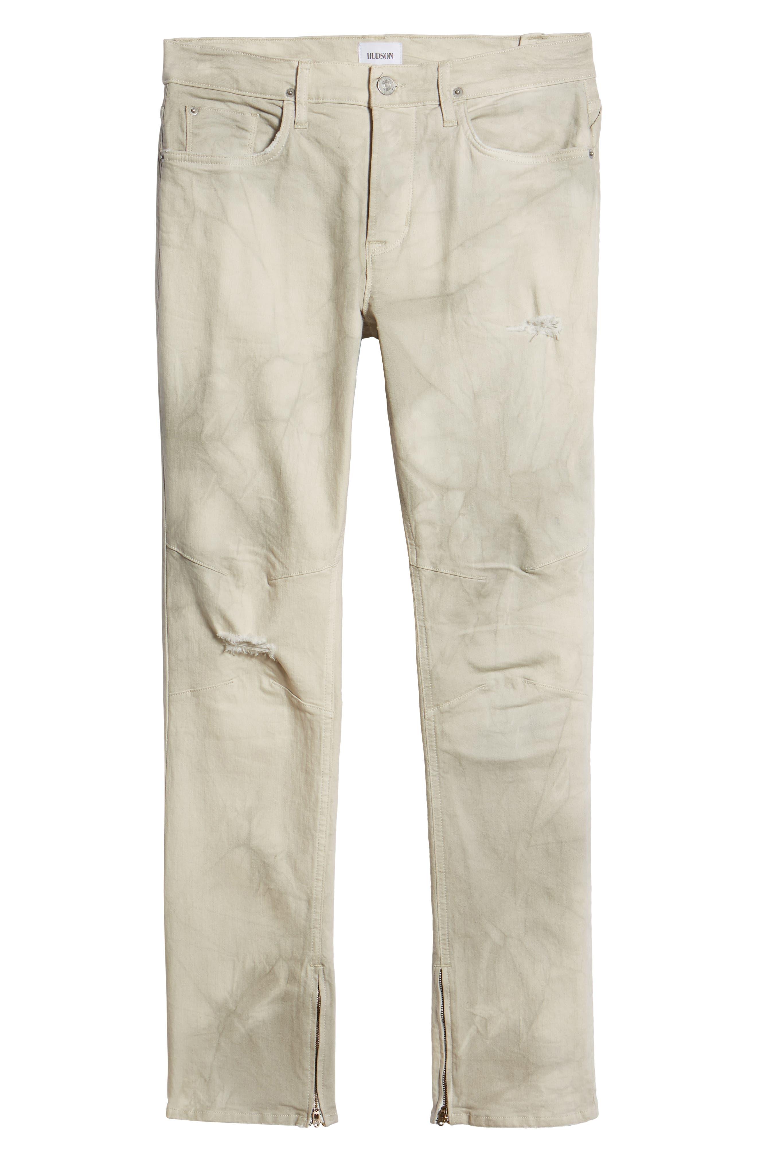Vaughn Biker Skinny Fit Jeans,                             Alternate thumbnail 6, color,                             250
