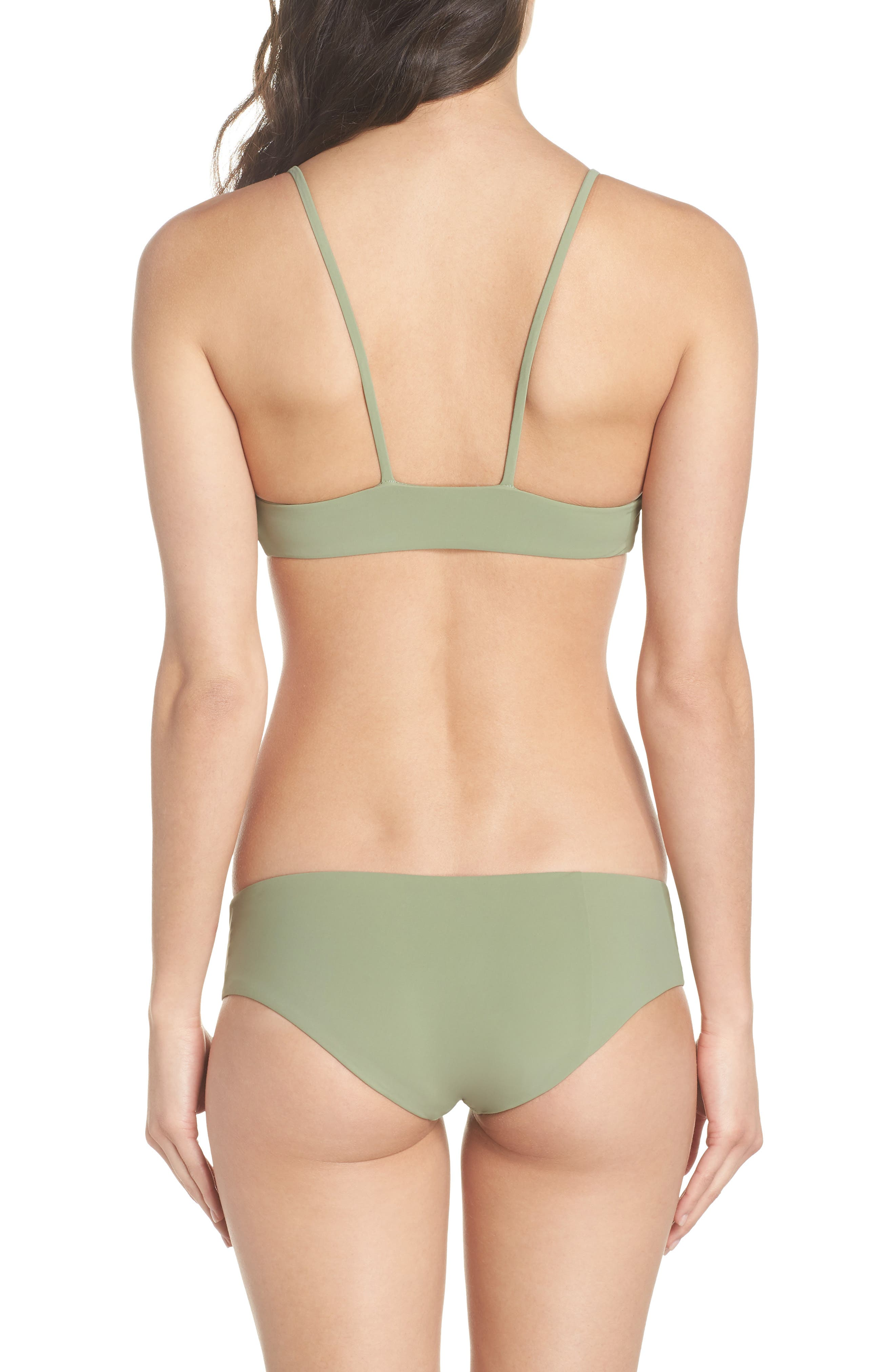 Dana the Delinquent Bikini Top,                             Alternate thumbnail 8, color,                             SAGE