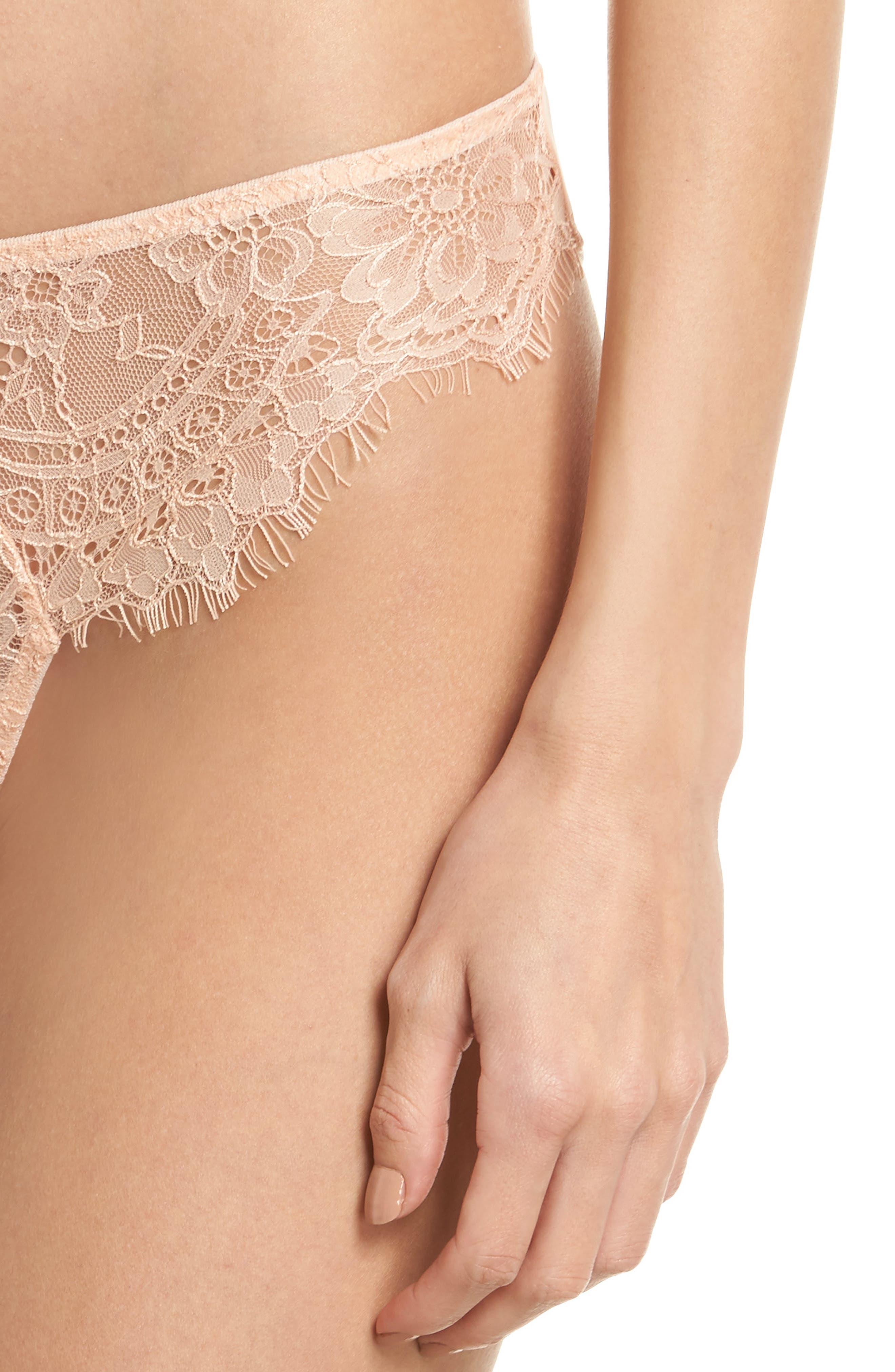 Thistle & Spire Graham Lace Bikini,                             Alternate thumbnail 4, color,
