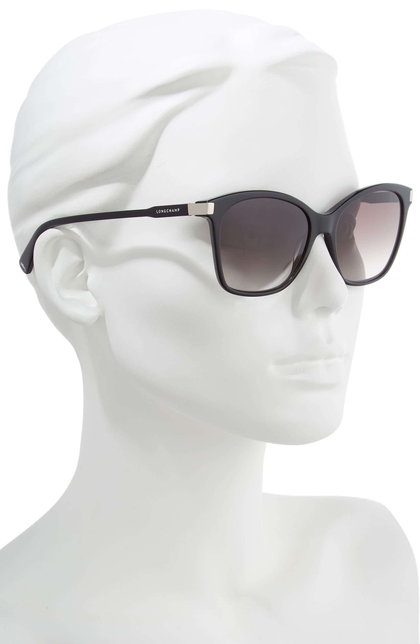 feffca3ba8 Longchamp Le Pliage 54mm Butterfly Sunglasses