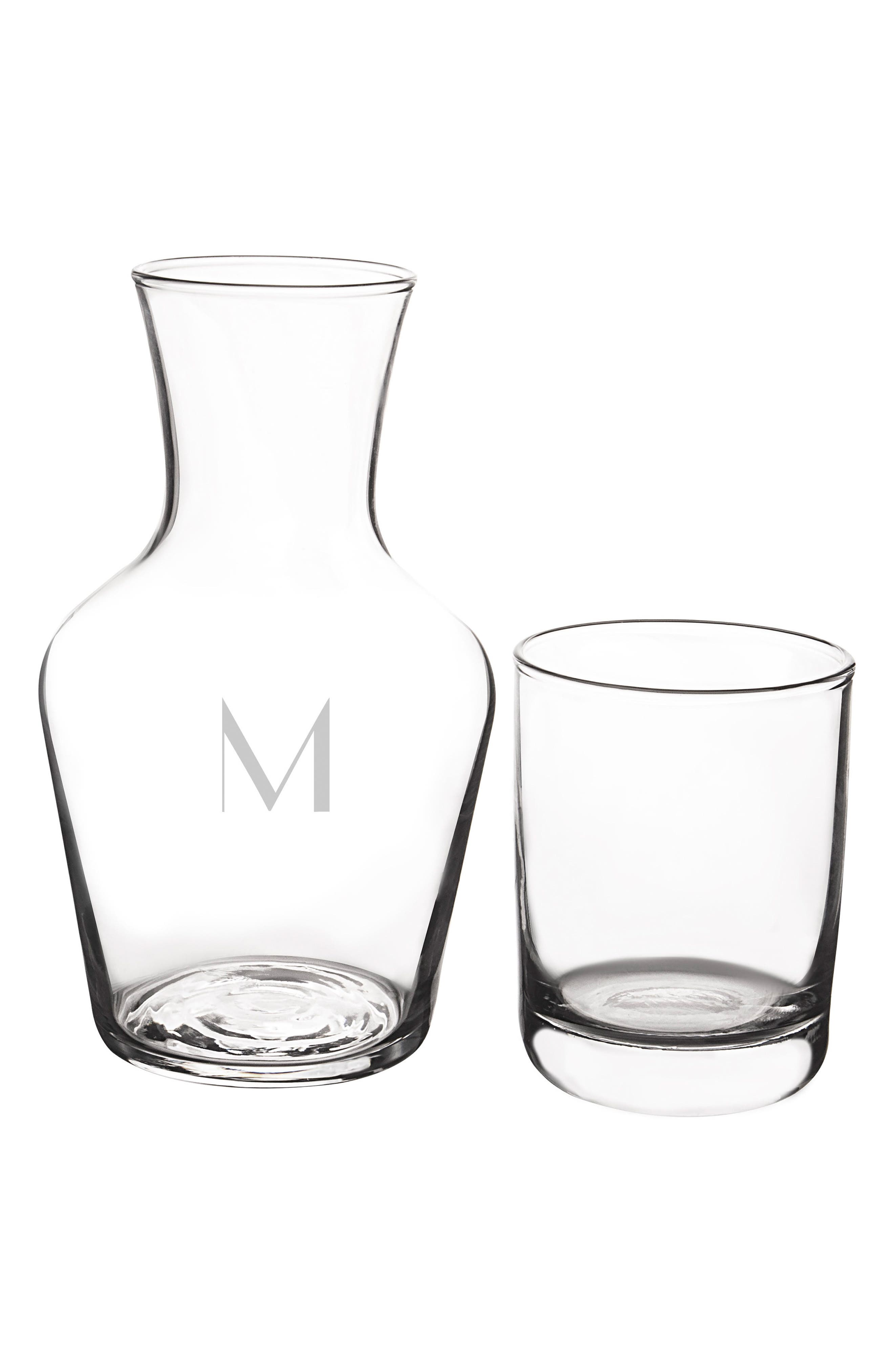 Bedside Water Carafe & Glass Set,                             Alternate thumbnail 31, color,
