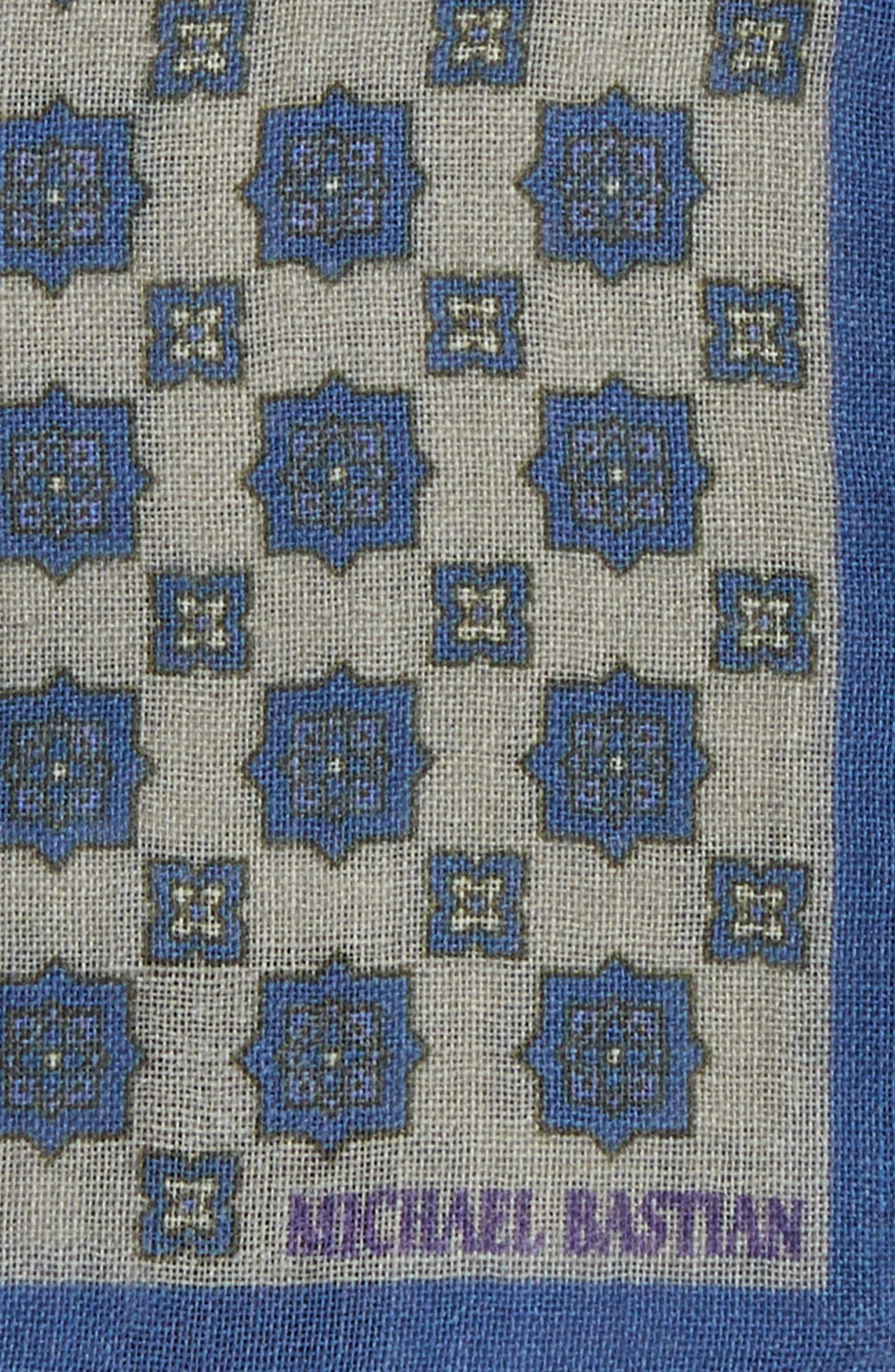 Medallion Pocket Square,                             Alternate thumbnail 3, color,                             055