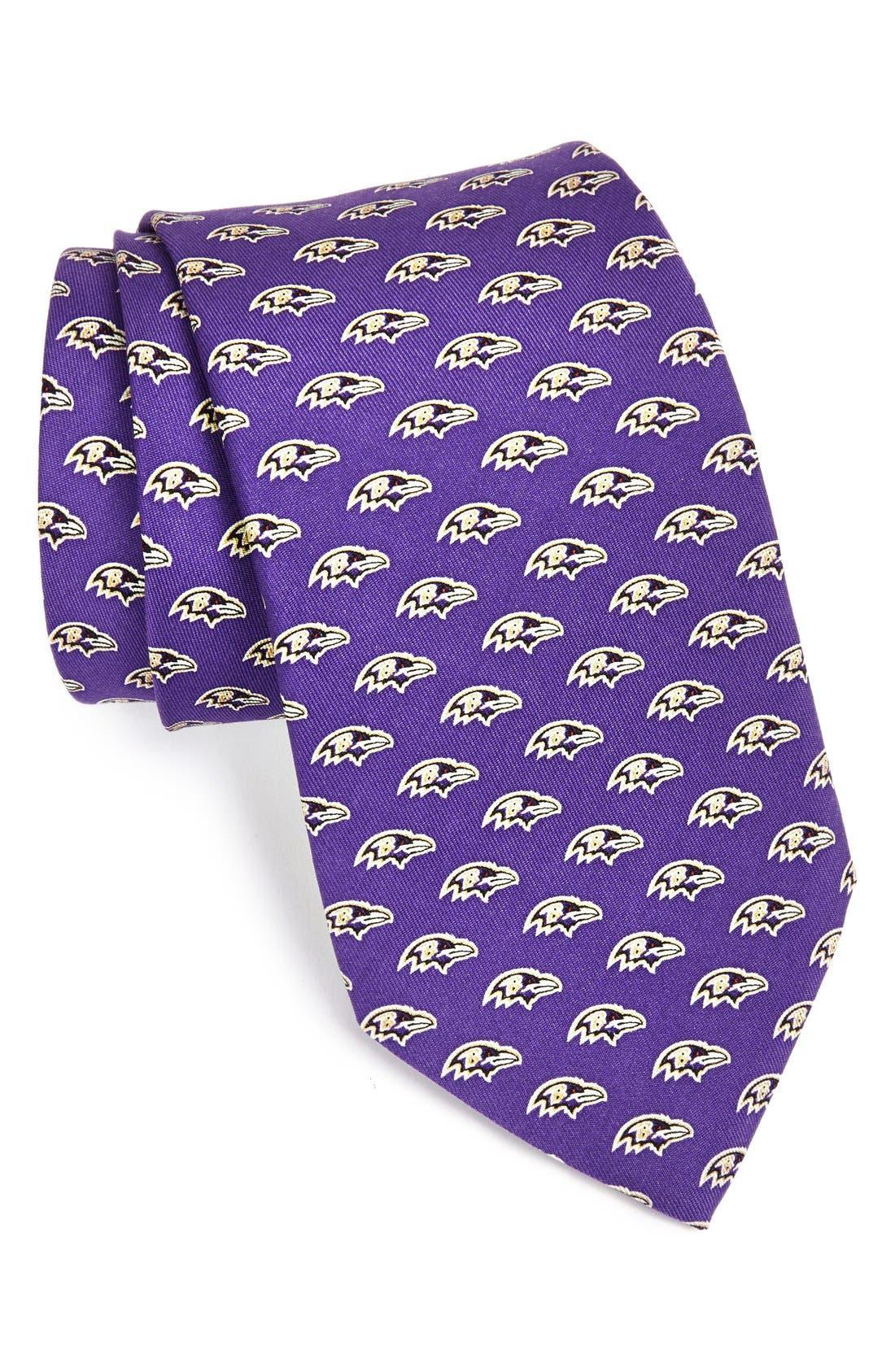 Baltimore Ravens - NFL Woven Silk Tie,                         Main,                         color, 525
