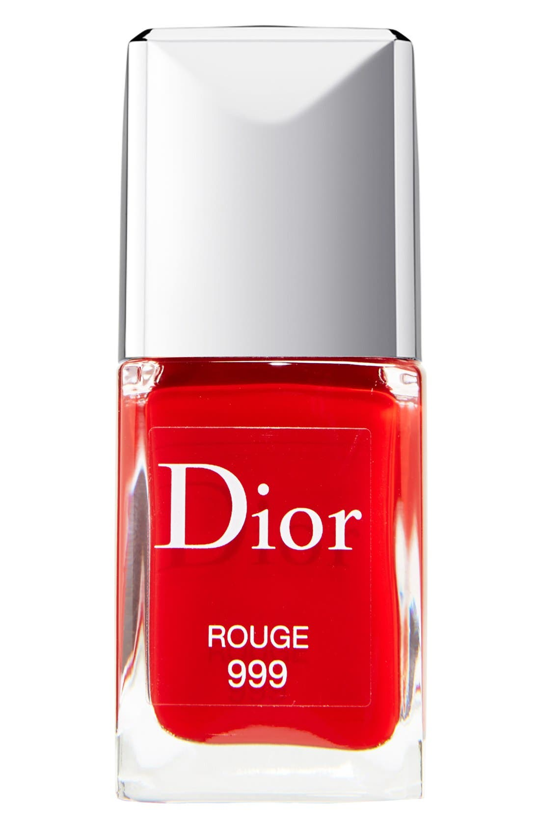 Vernis Gel Shine & Long Wear Nail Lacquer,                             Main thumbnail 1, color,                             999 ROUGE 999