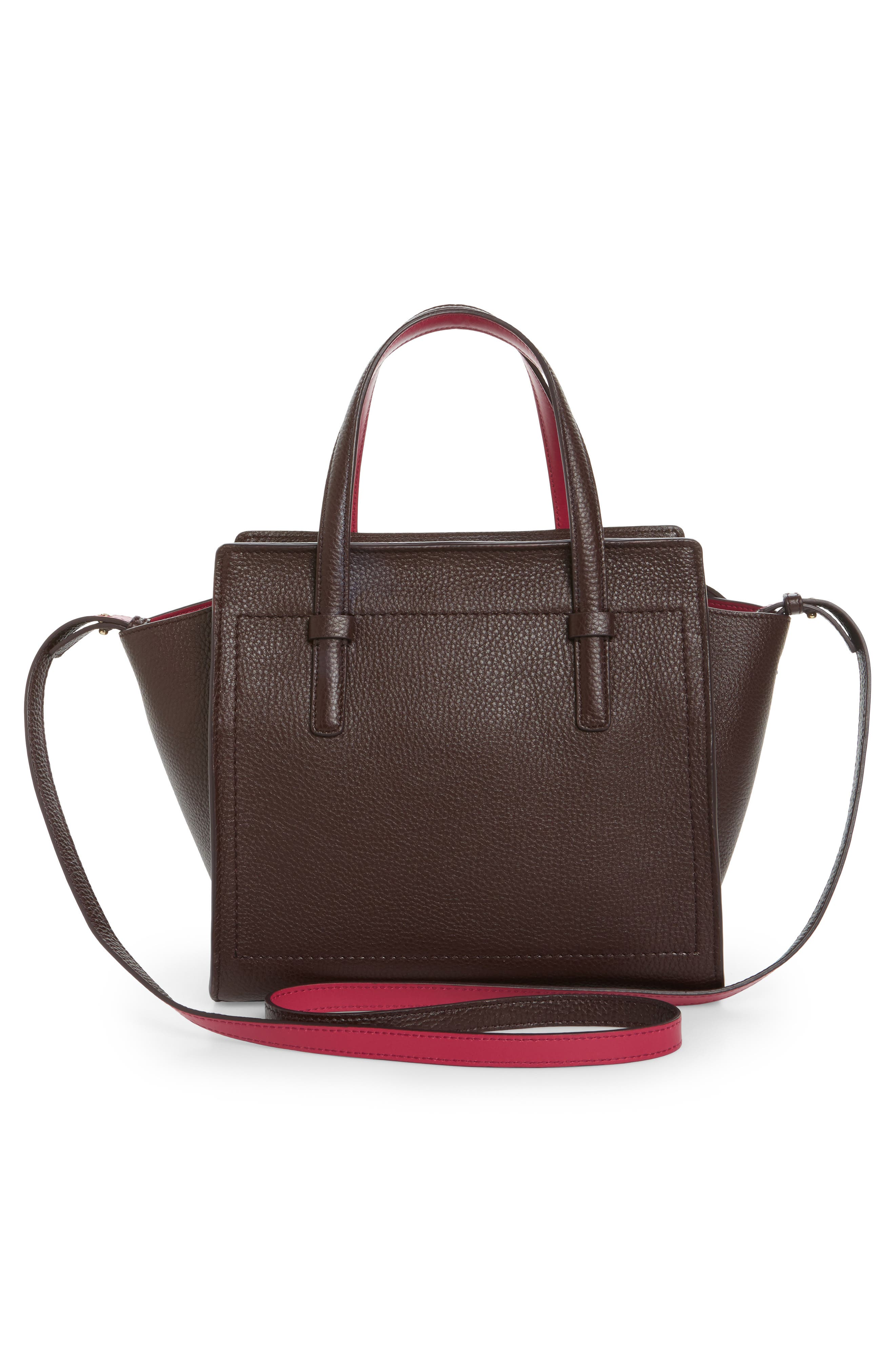Small Calfskin Tote,                             Alternate thumbnail 3, color,                             570