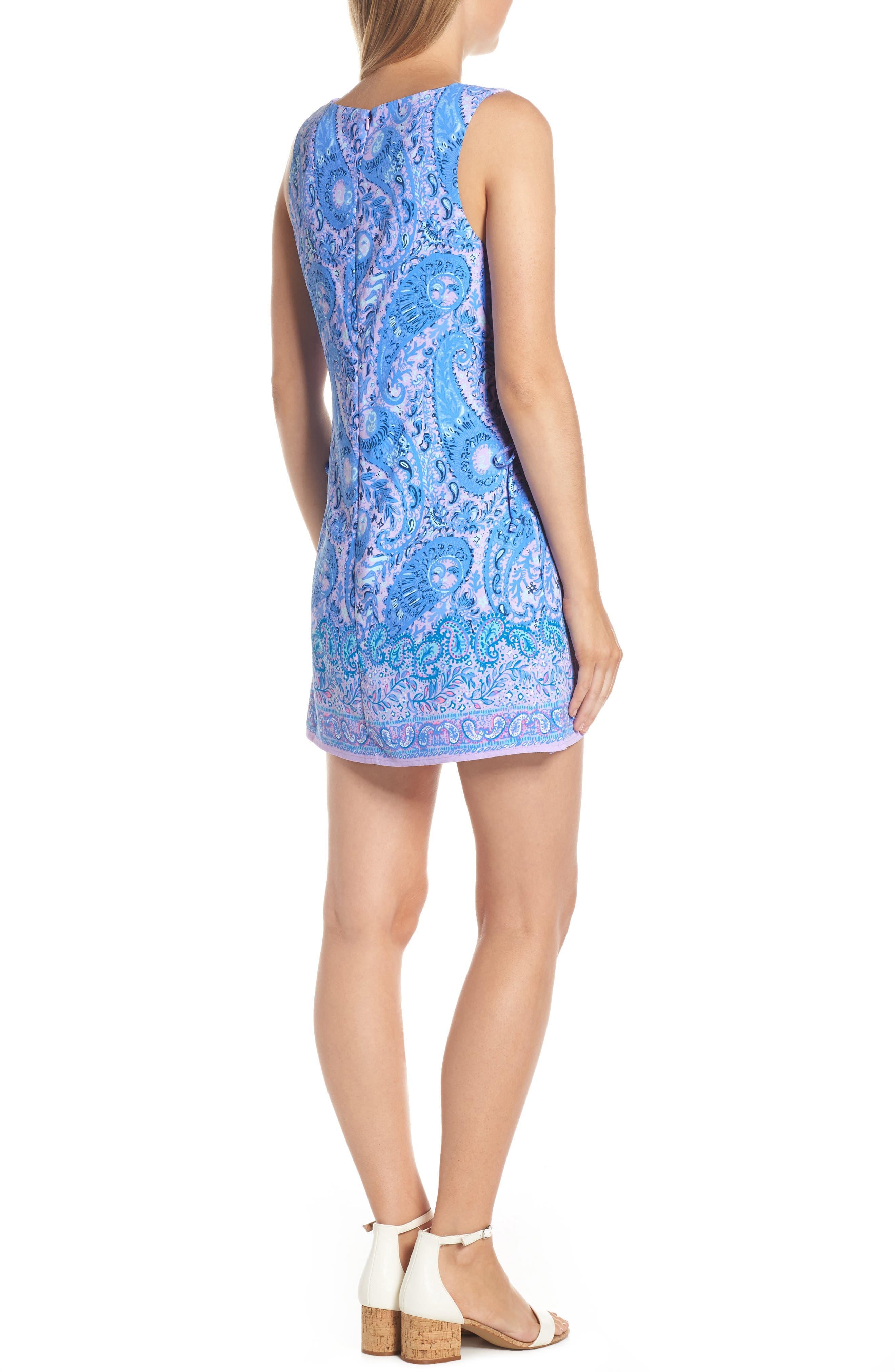 Donna Romper Dress,                             Alternate thumbnail 2, color,                             PURPLE IRIS HELLO SUNSHINE