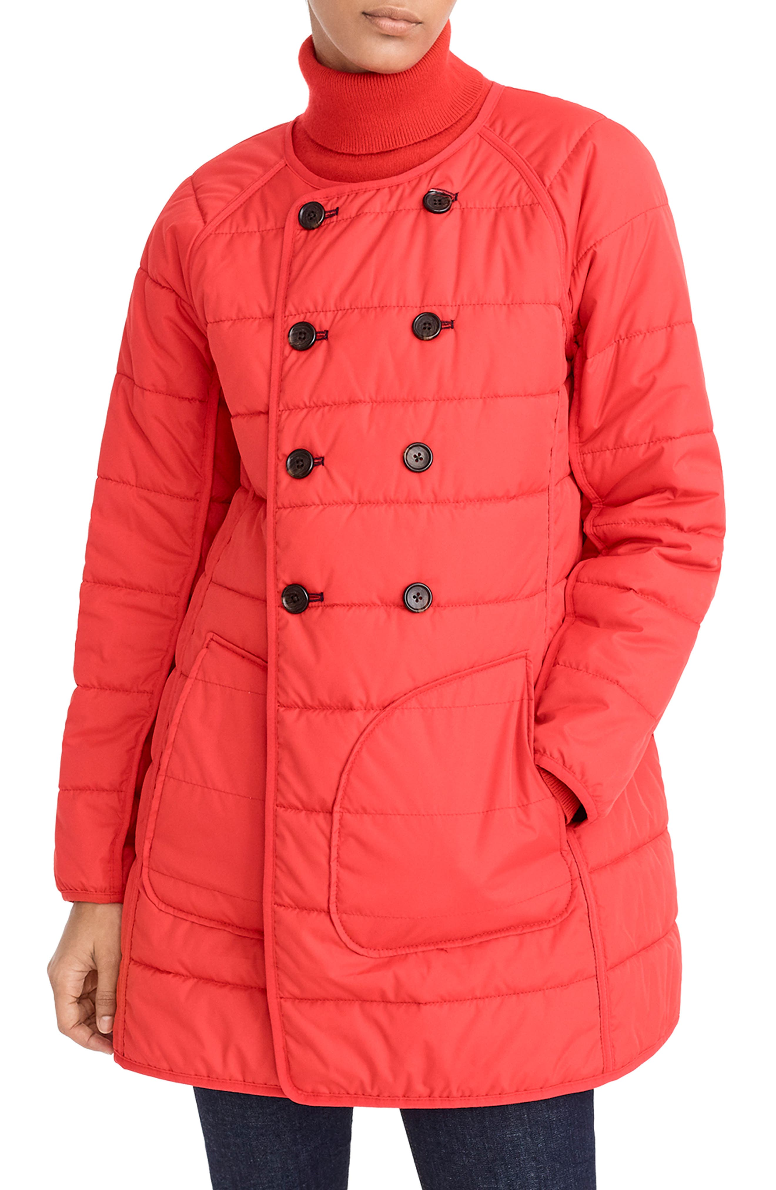 Reversible Puffer Jacket,                             Alternate thumbnail 2, color,                             400