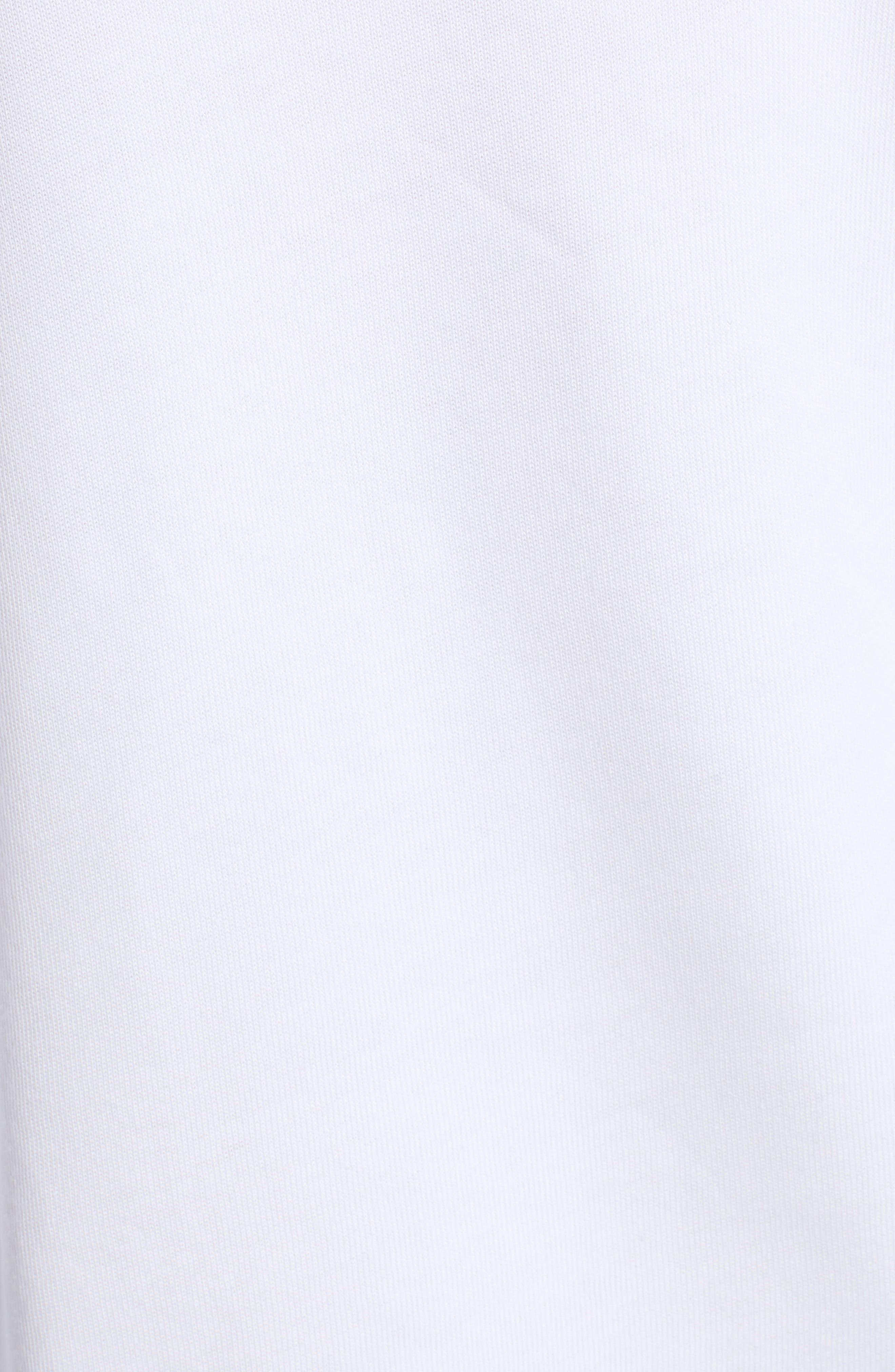 Snowy Tropics Sommers Sweatshirt,                             Alternate thumbnail 5, color,                             CLEAN WHITE