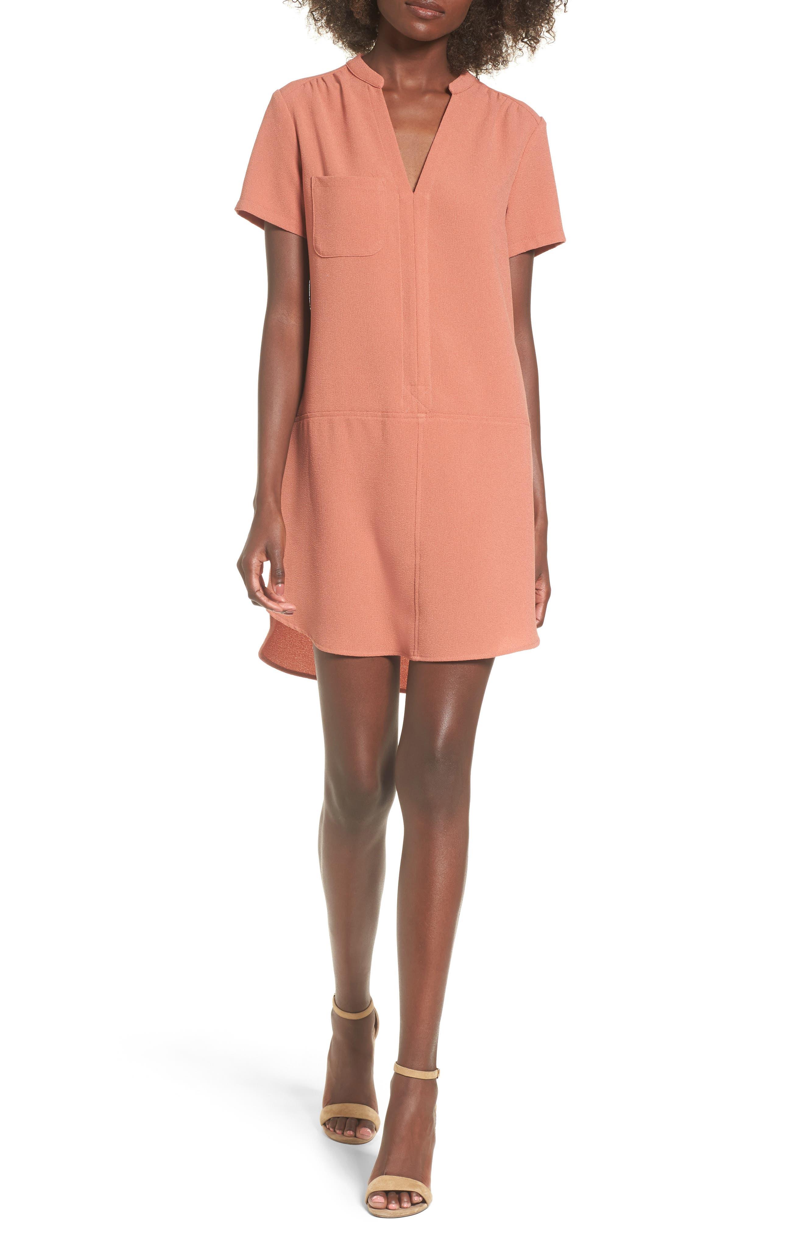 Hailey Crepe Dress,                             Main thumbnail 25, color,
