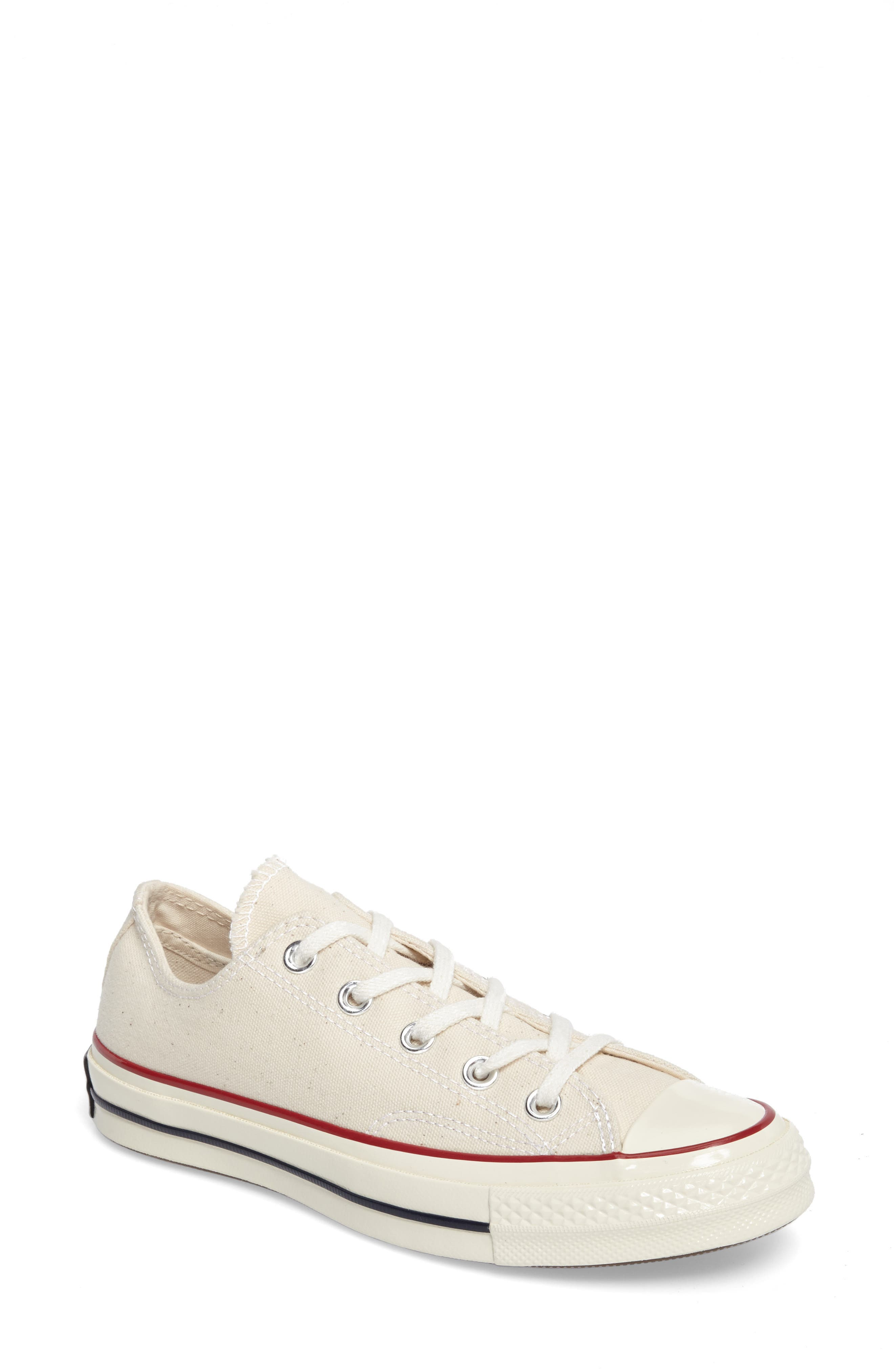 Chuck Taylor<sup>®</sup> All Star<sup>®</sup> Ox Low Top Sneaker,                         Main,                         color, PARCHMENT