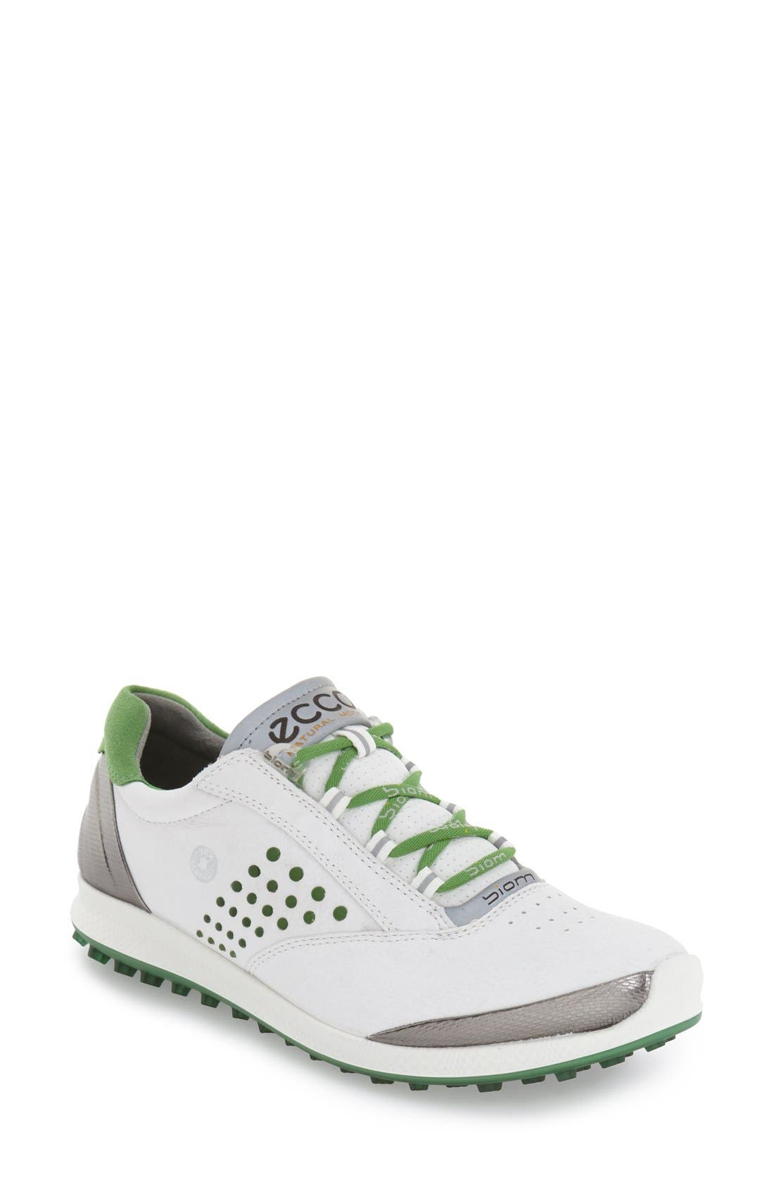 'BIOM' Hydromax<sup>®</sup> Waterproof Golf Shoe,                             Main thumbnail 4, color,