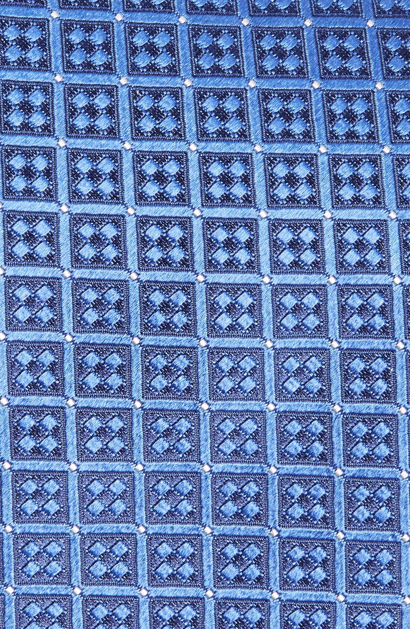 Geometric Silk Tie,                             Alternate thumbnail 2, color,                             432