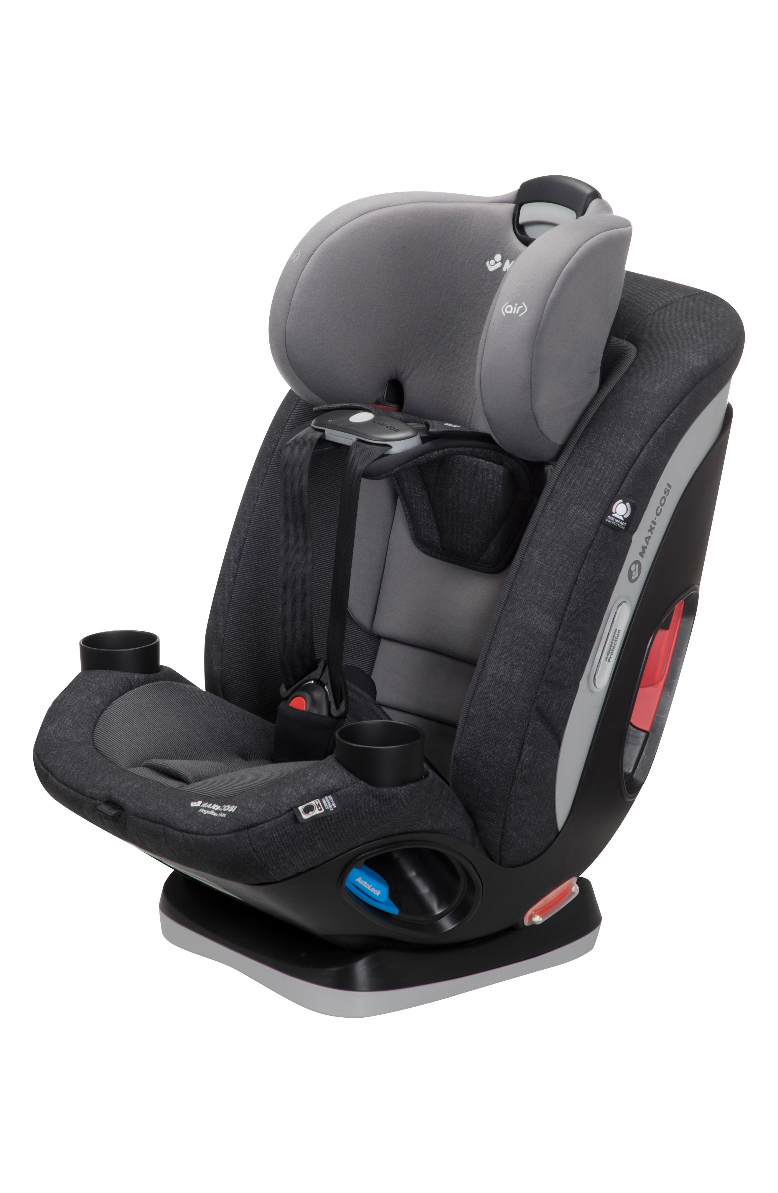 Magellan Max 2018 5-in-1 Convertible Car Seat,                             Alternate thumbnail 8, color,                             NOMAD BLACK