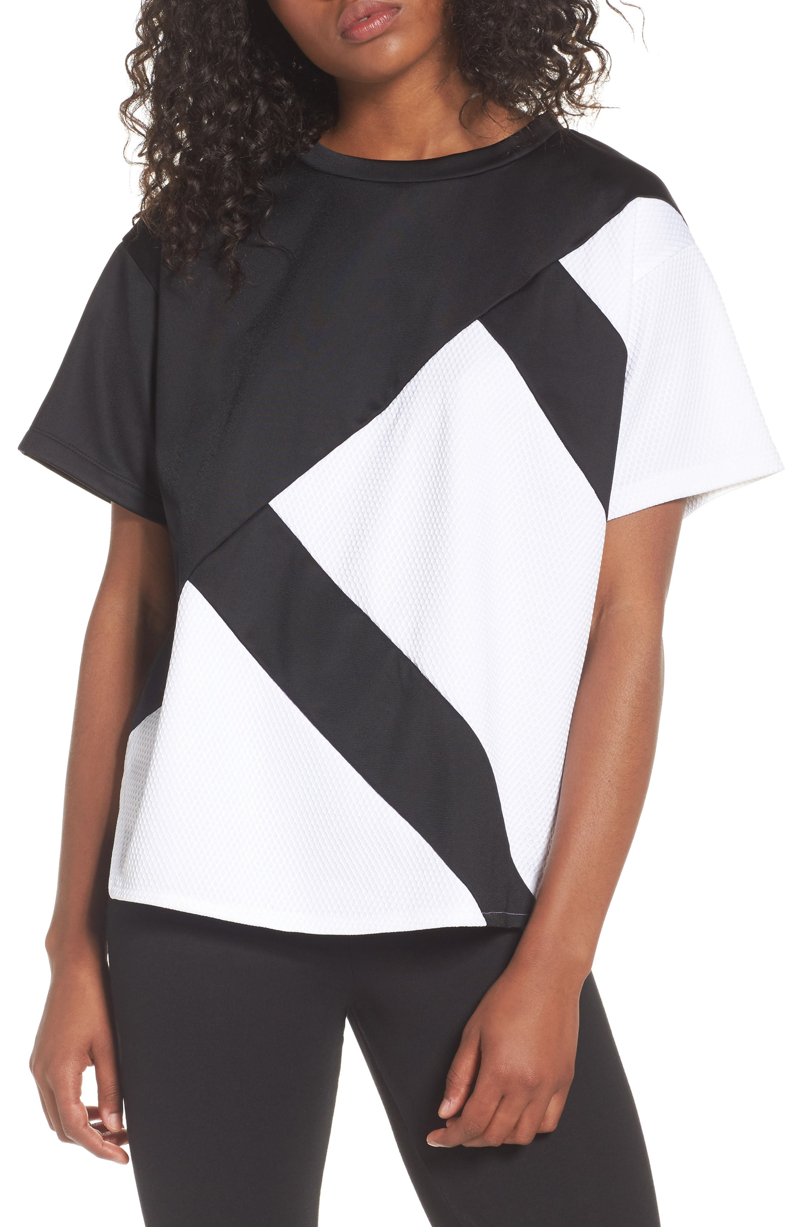 originals EQT Block Tee,                             Main thumbnail 1, color,