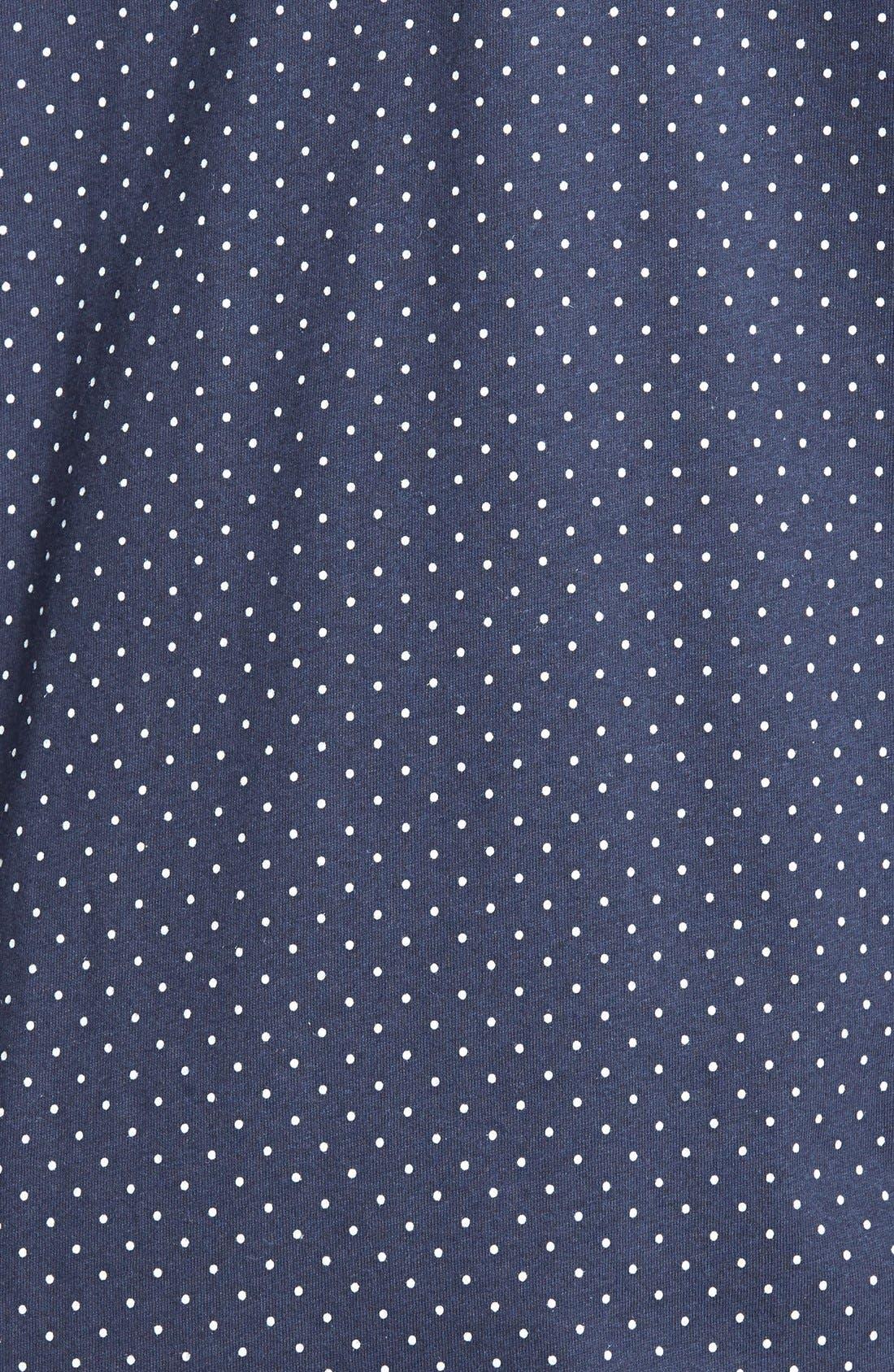 Knit Crop Pajamas,                             Alternate thumbnail 17, color,
