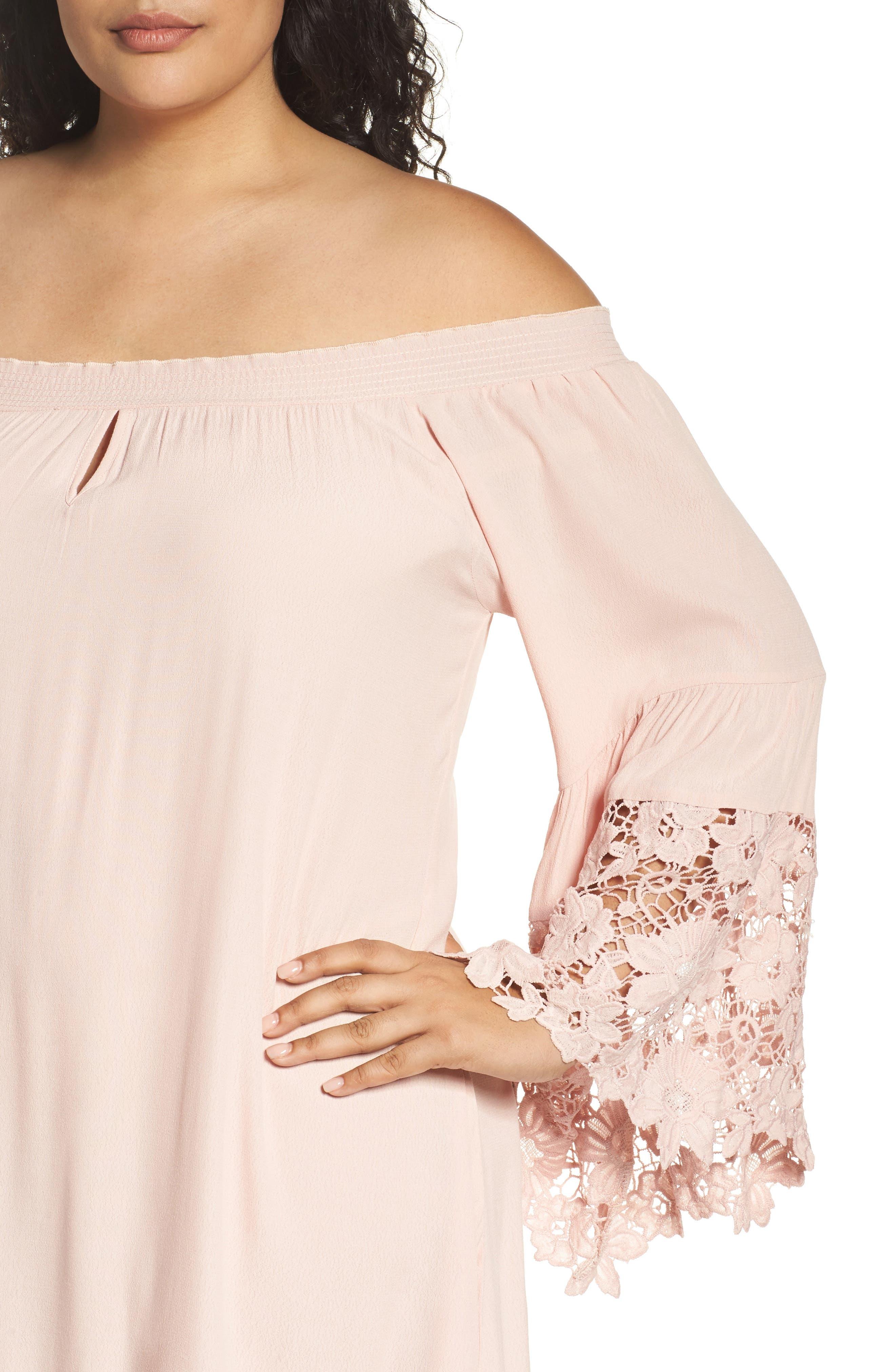 Jolie Lace Accent Cover-Up Dress,                             Alternate thumbnail 9, color,