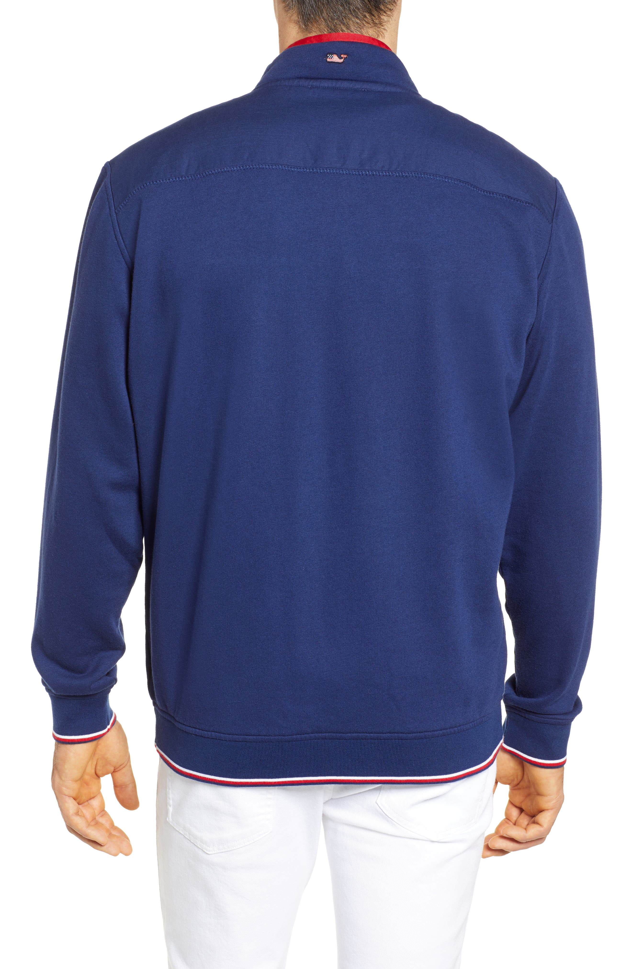 USA Shep Pullover,                             Alternate thumbnail 2, color,                             DEEP BAY