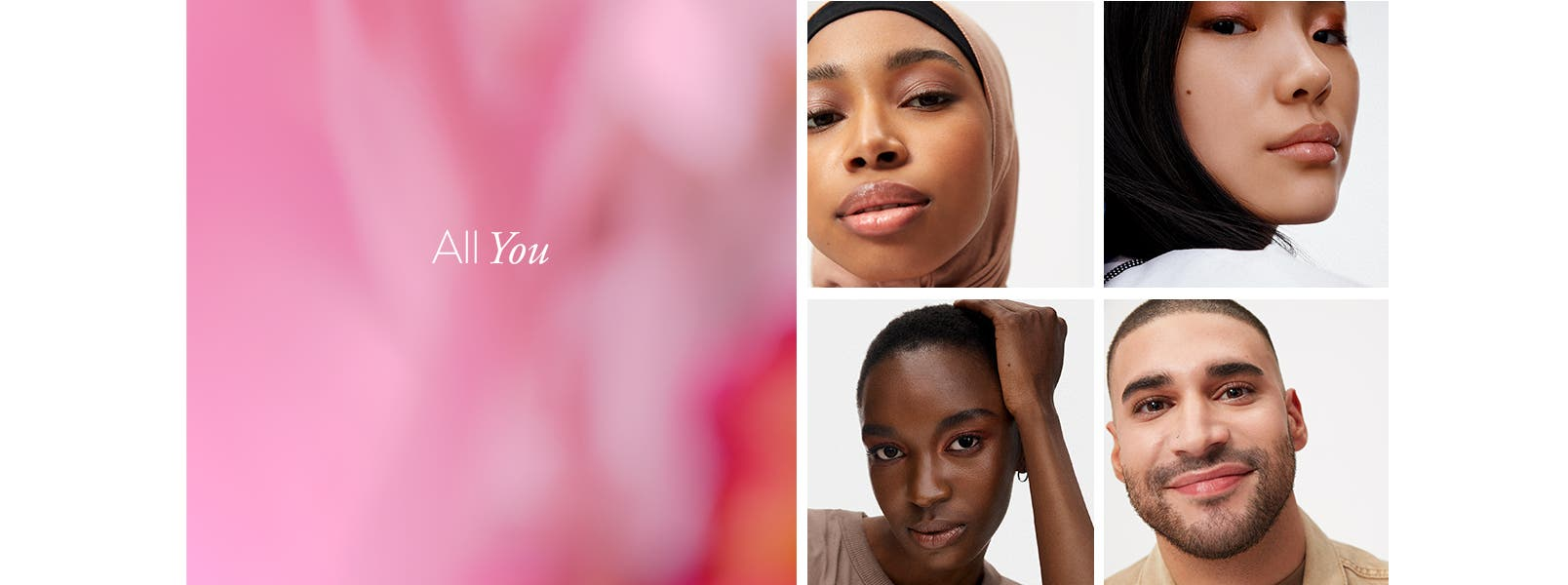 All you: makeup for everyone.