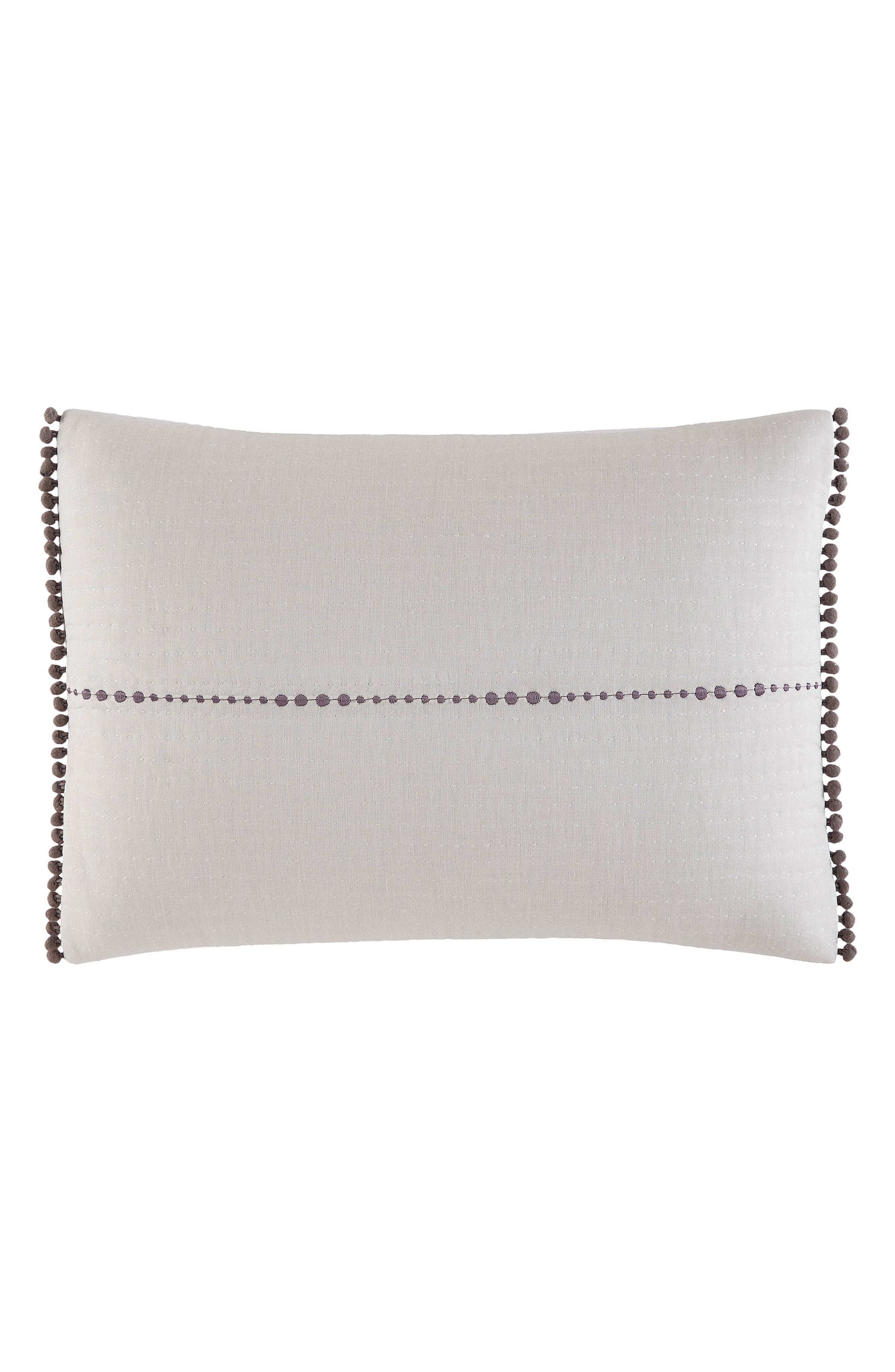 Greystone Accent Pillow,                         Main,                         color, WHITE