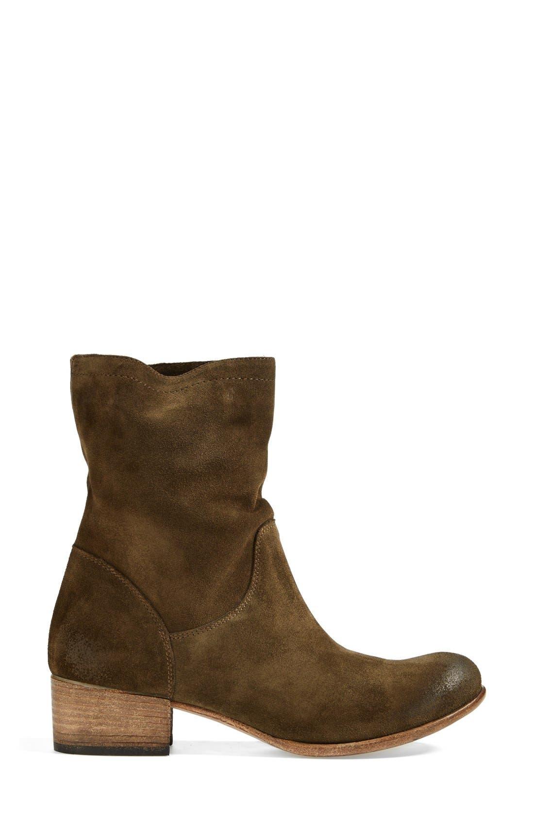 ALBERTO FERMANI,                             'Bergamo' Suede Boot,                             Alternate thumbnail 2, color,                             305