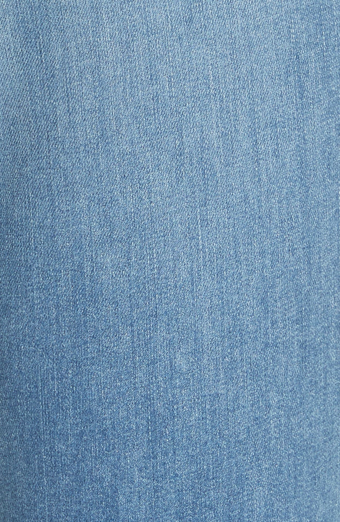 High Waist Skinny Jeans,                             Alternate thumbnail 5, color,