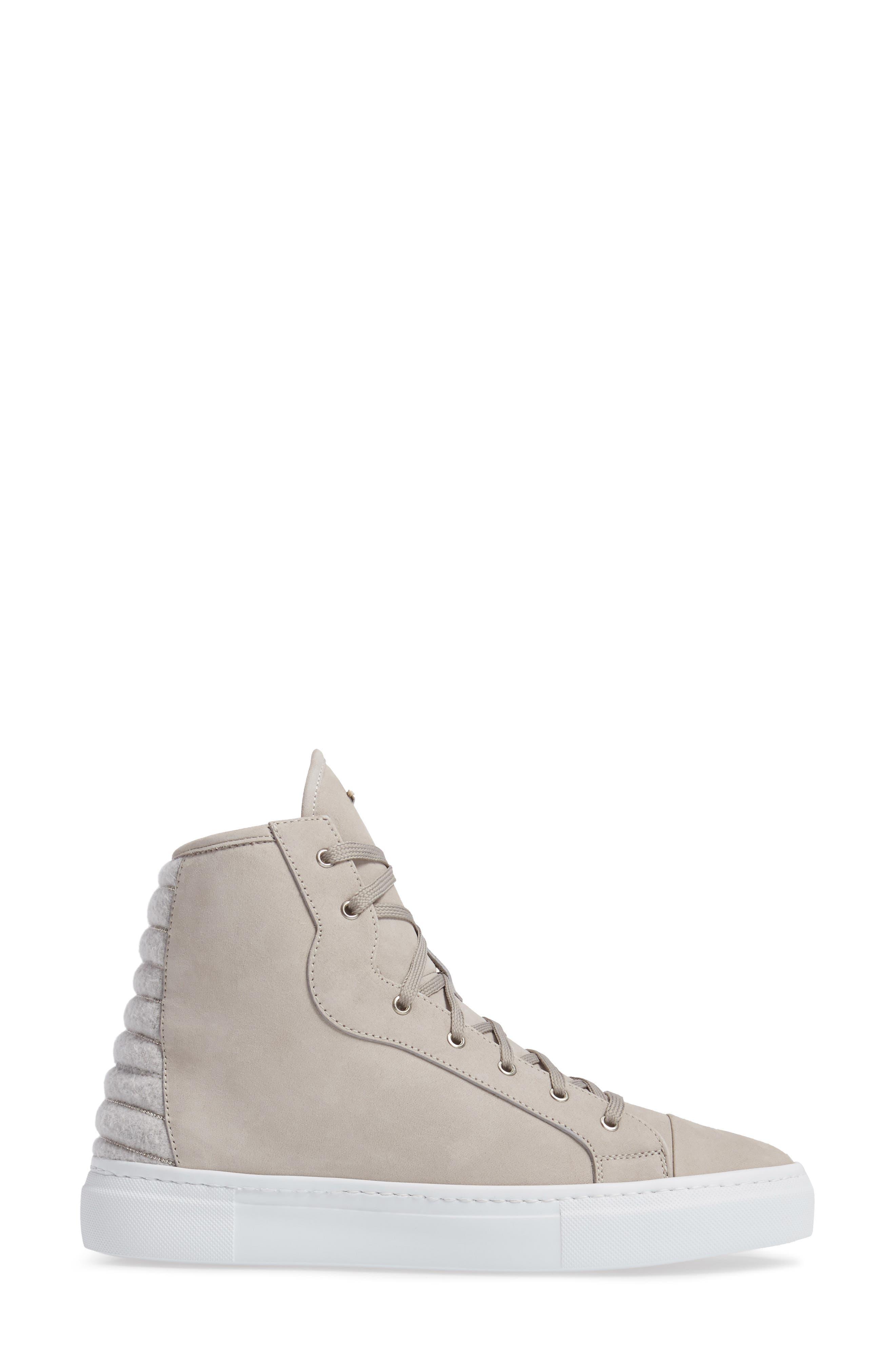 Eva High Top Sneaker,                             Alternate thumbnail 3, color,                             250