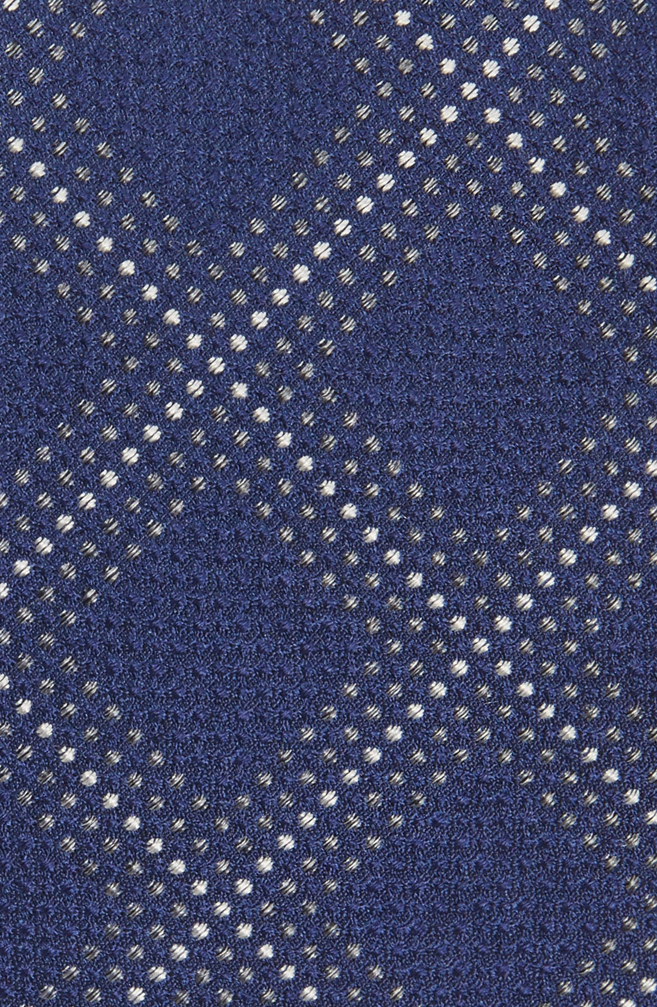 Grid Silk Blend Tie,                             Alternate thumbnail 2, color,                             410
