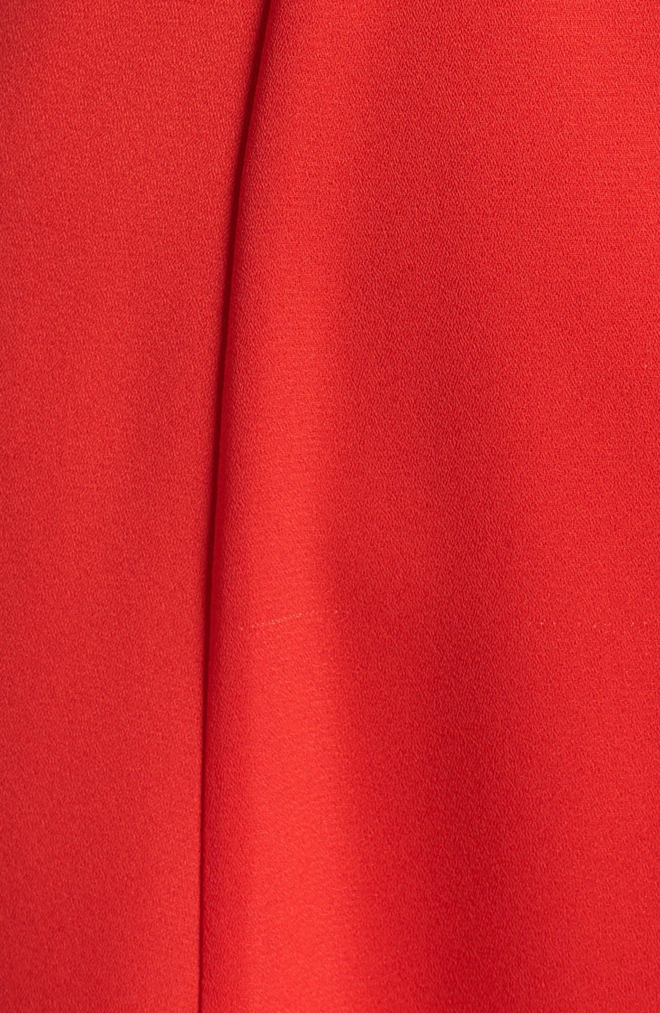 Ruffle Sleeve Dress,                             Alternate thumbnail 11, color,