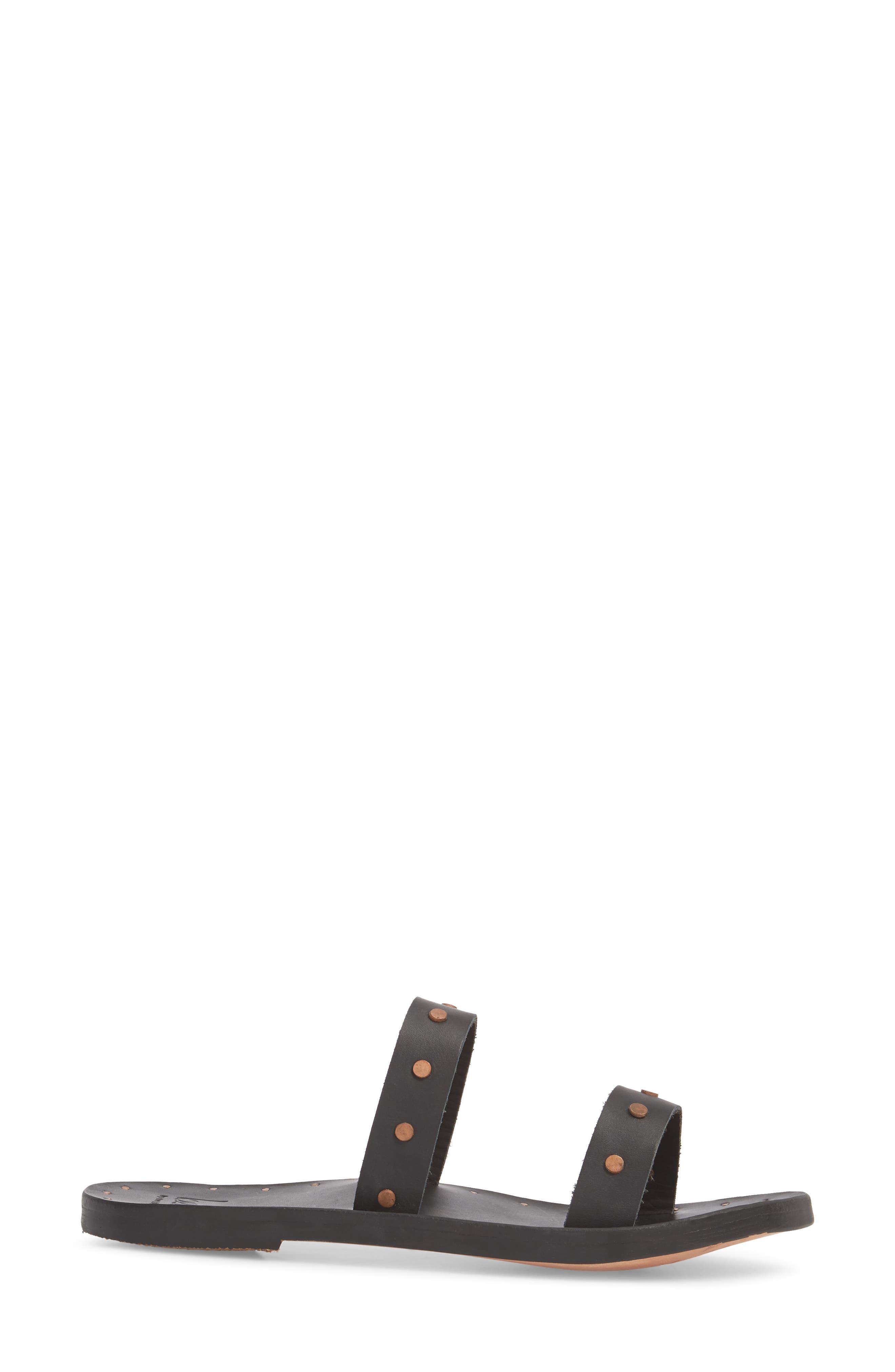 Woodpecker Studded Slide Sandal,                             Alternate thumbnail 5, color,
