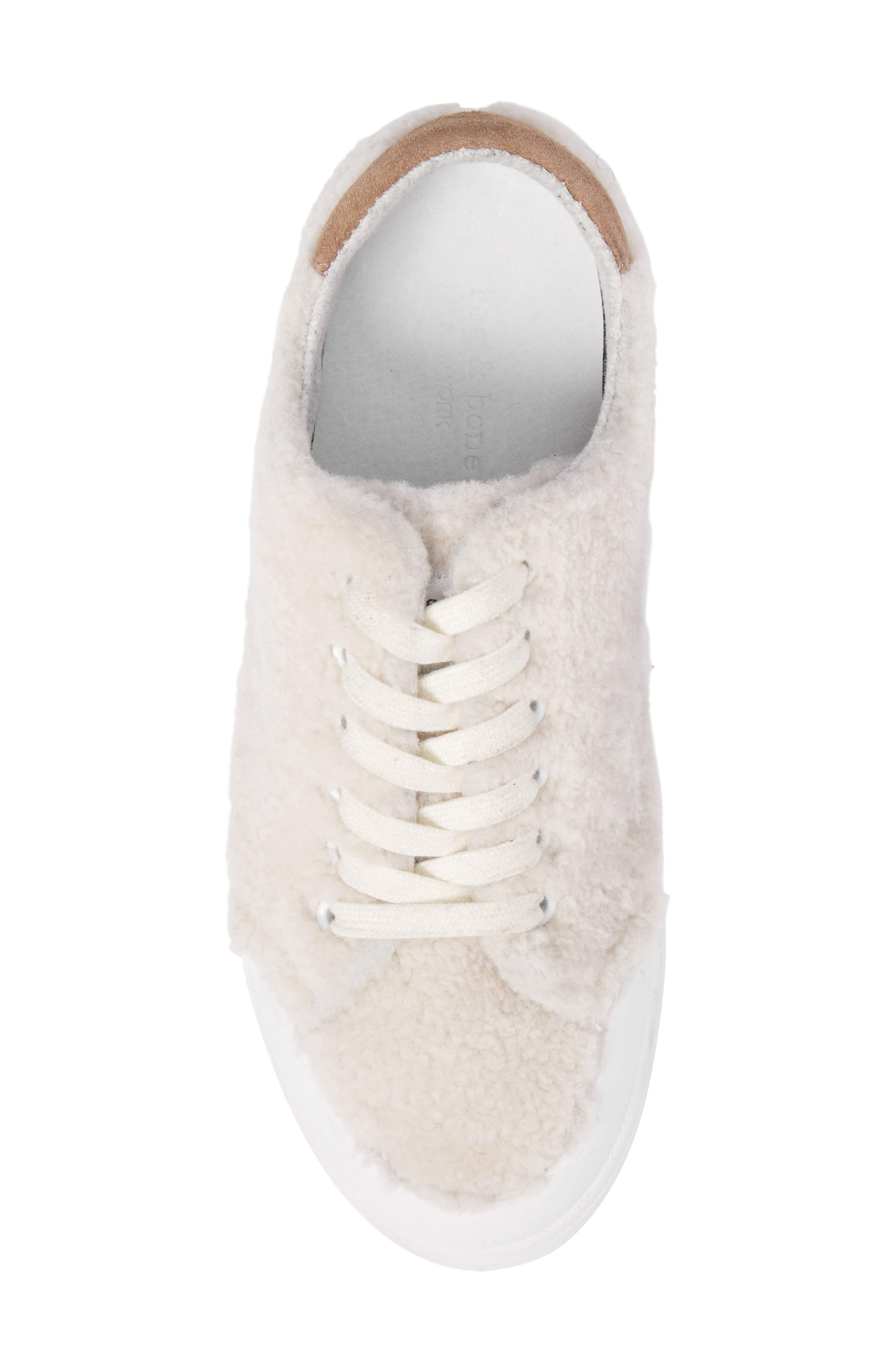 Standard Issue Genuine Shearling Sneaker,                             Alternate thumbnail 5, color,                             900