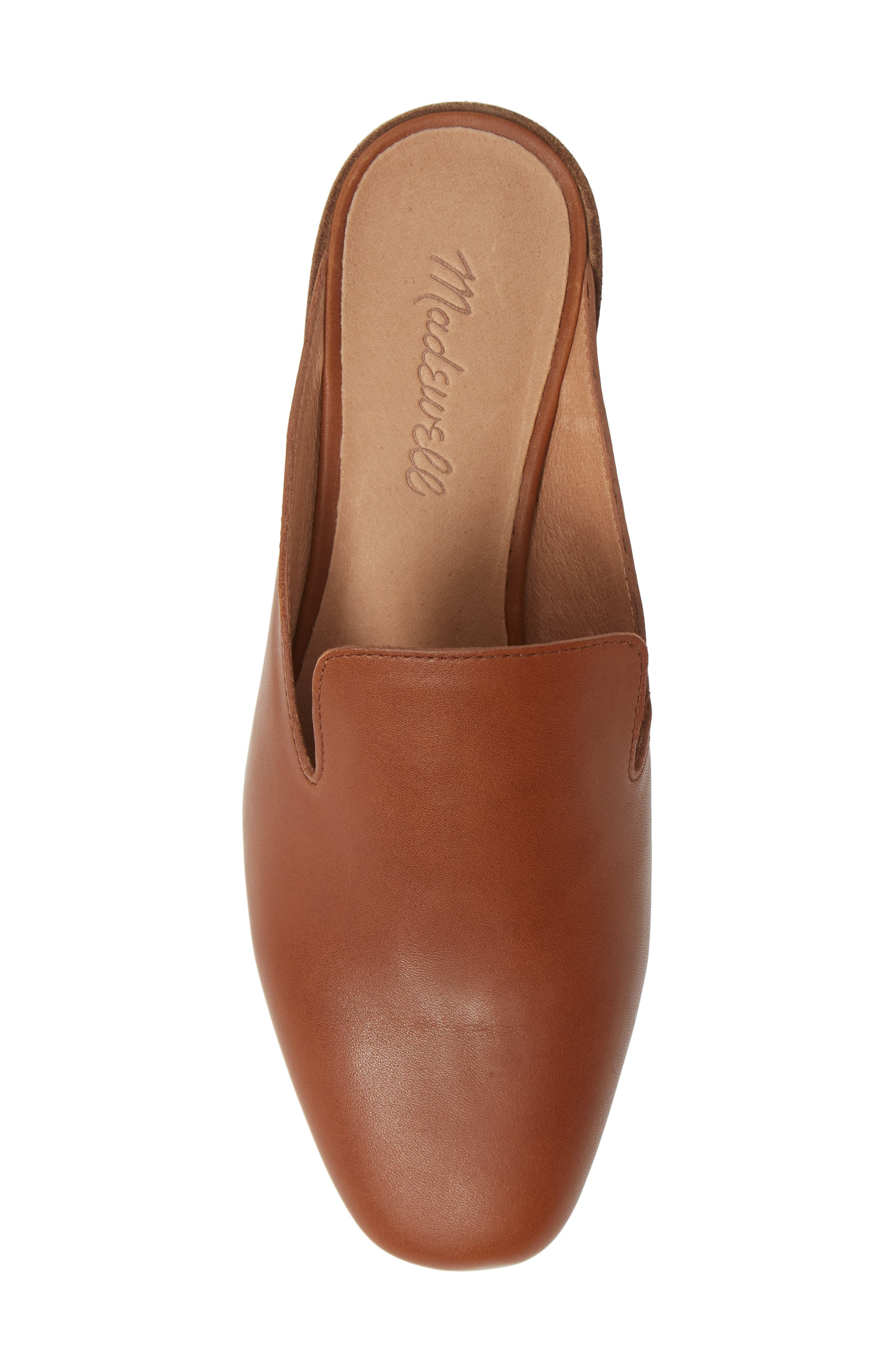 The Willa Loafer Mule,                             Alternate thumbnail 5, color,                             ENGLISH SADDLE VINTAGE LEATHER