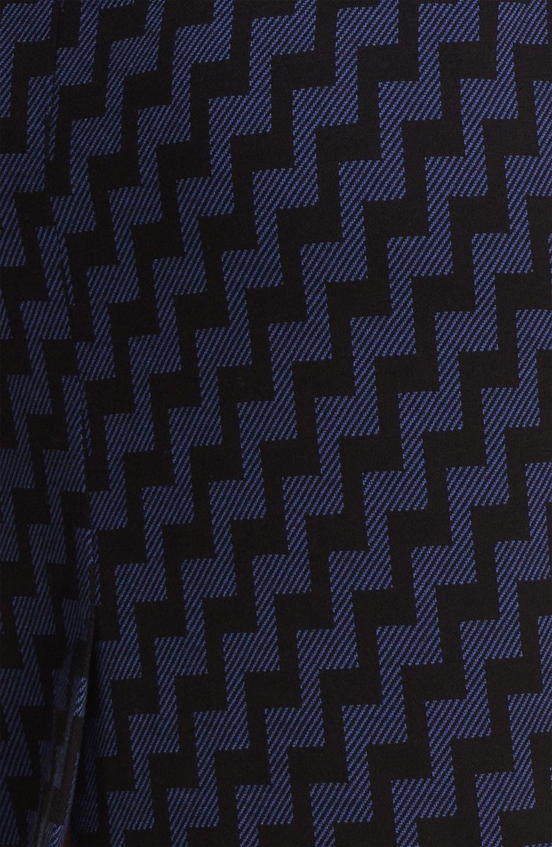 Belted Ponte Skirt,                             Alternate thumbnail 34, color,