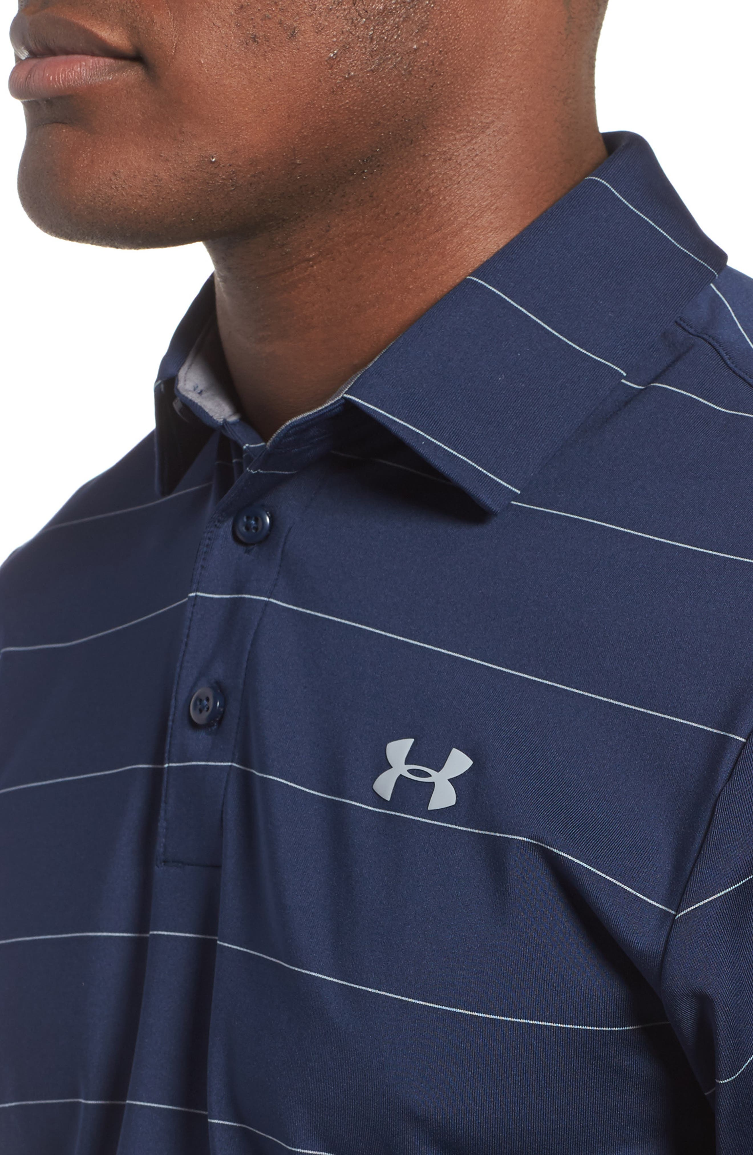 'Playoff' Loose Fit Short Sleeve Polo,                             Alternate thumbnail 207, color,