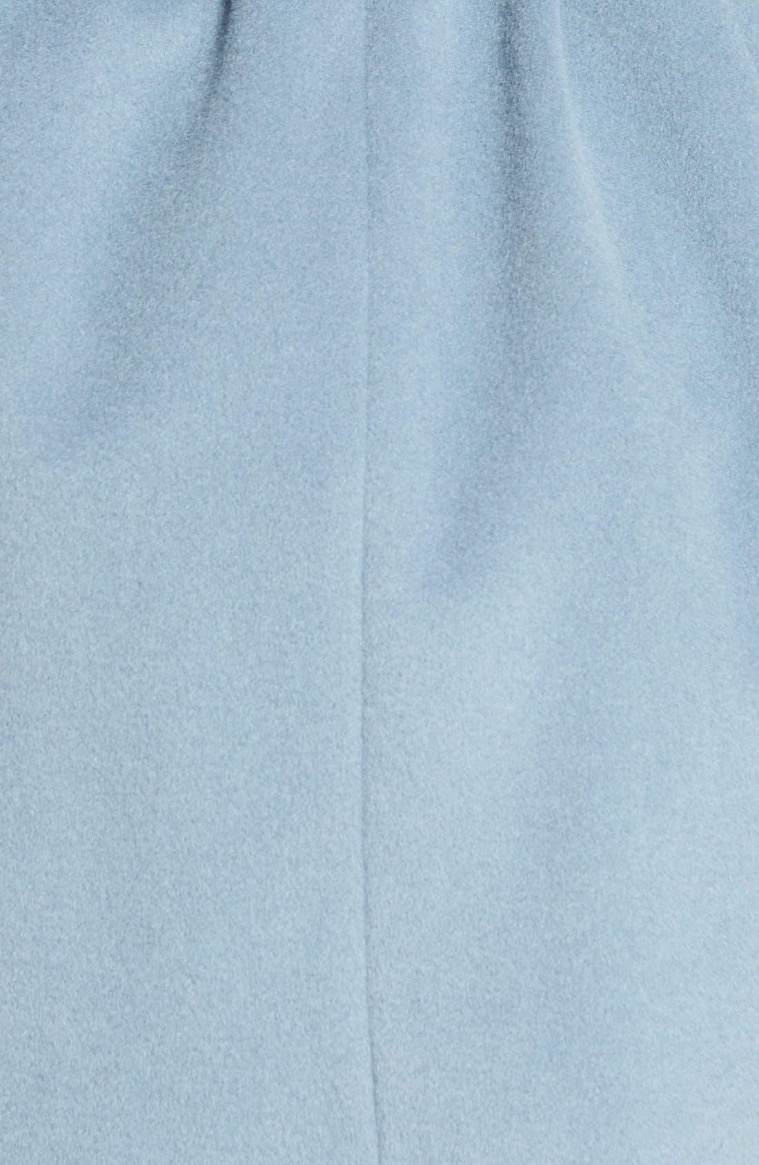 T Tahari Wool Blend Belted Wrap Coat,                             Alternate thumbnail 37, color,
