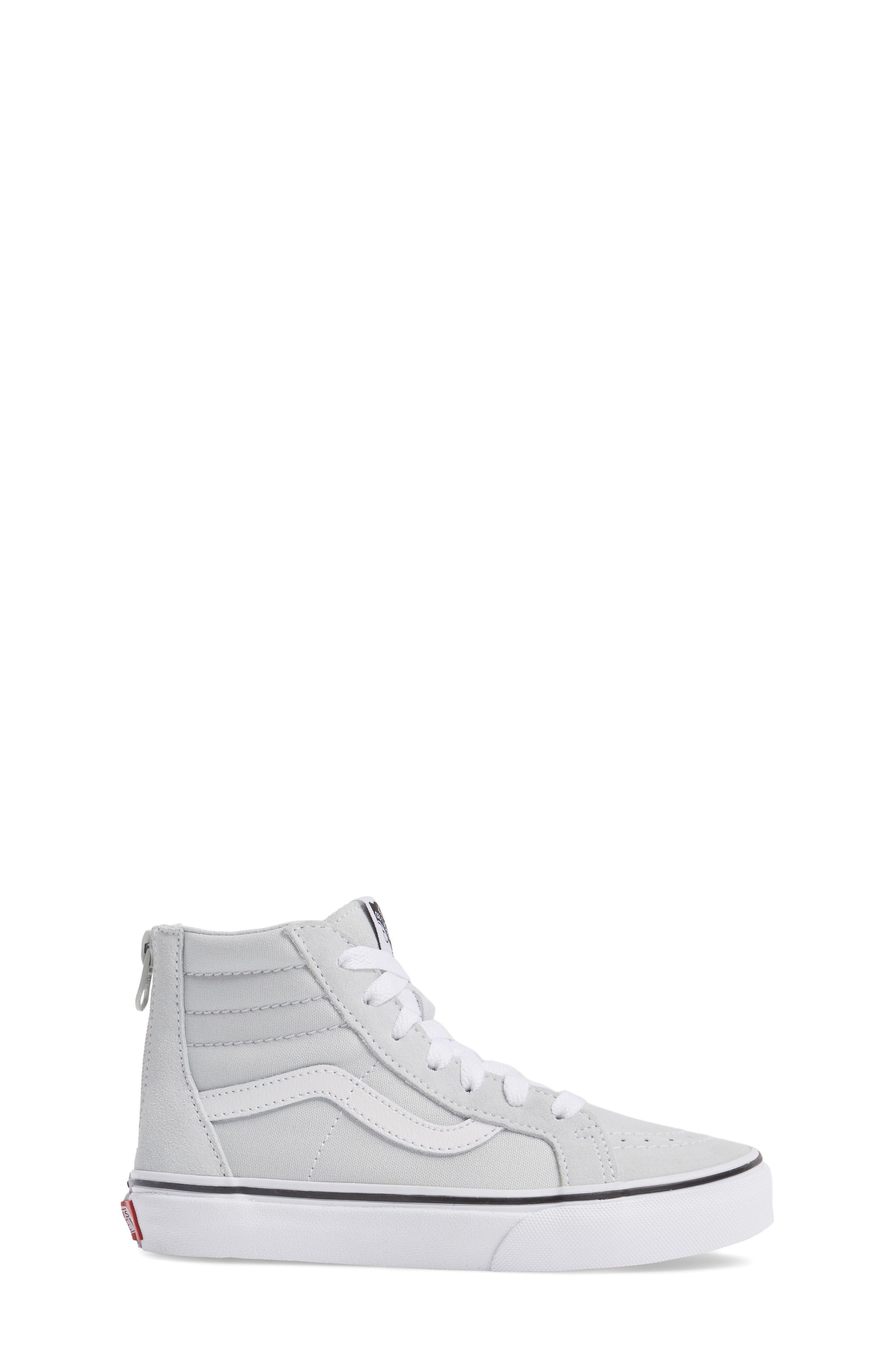 SK8-Hi Zip Sneaker,                             Alternate thumbnail 3, color,                             900