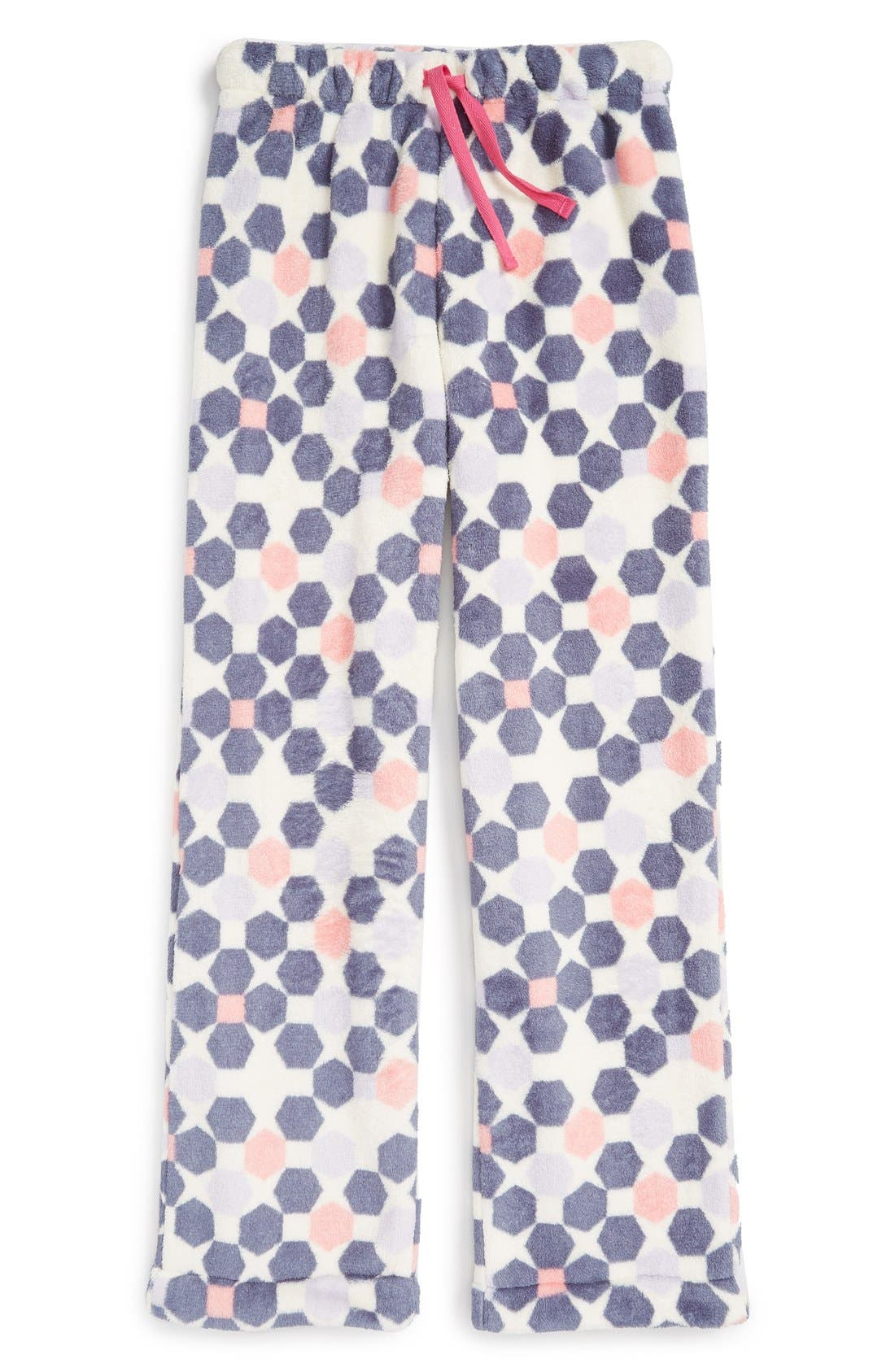 Fleece Pajama Pants,                             Main thumbnail 14, color,