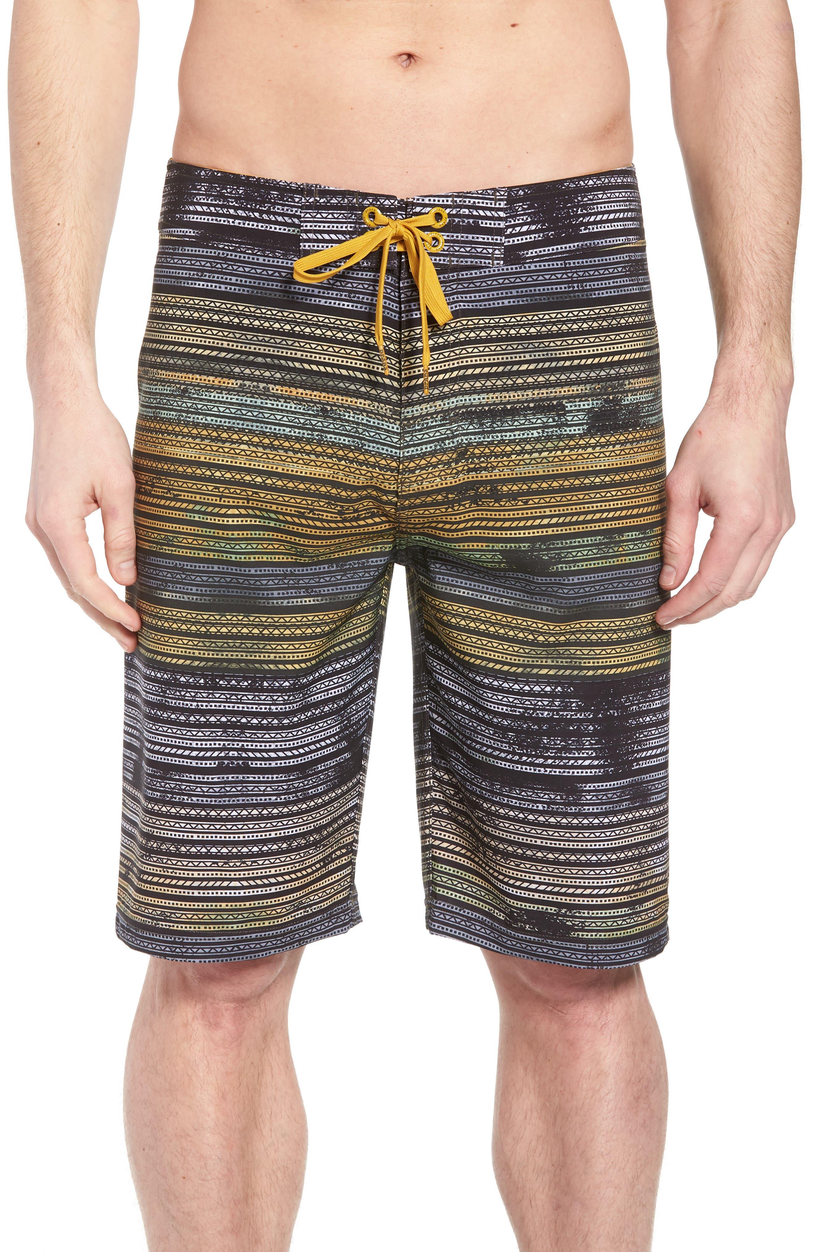 'Sediment' Stretch Board Shorts,                             Main thumbnail 6, color,