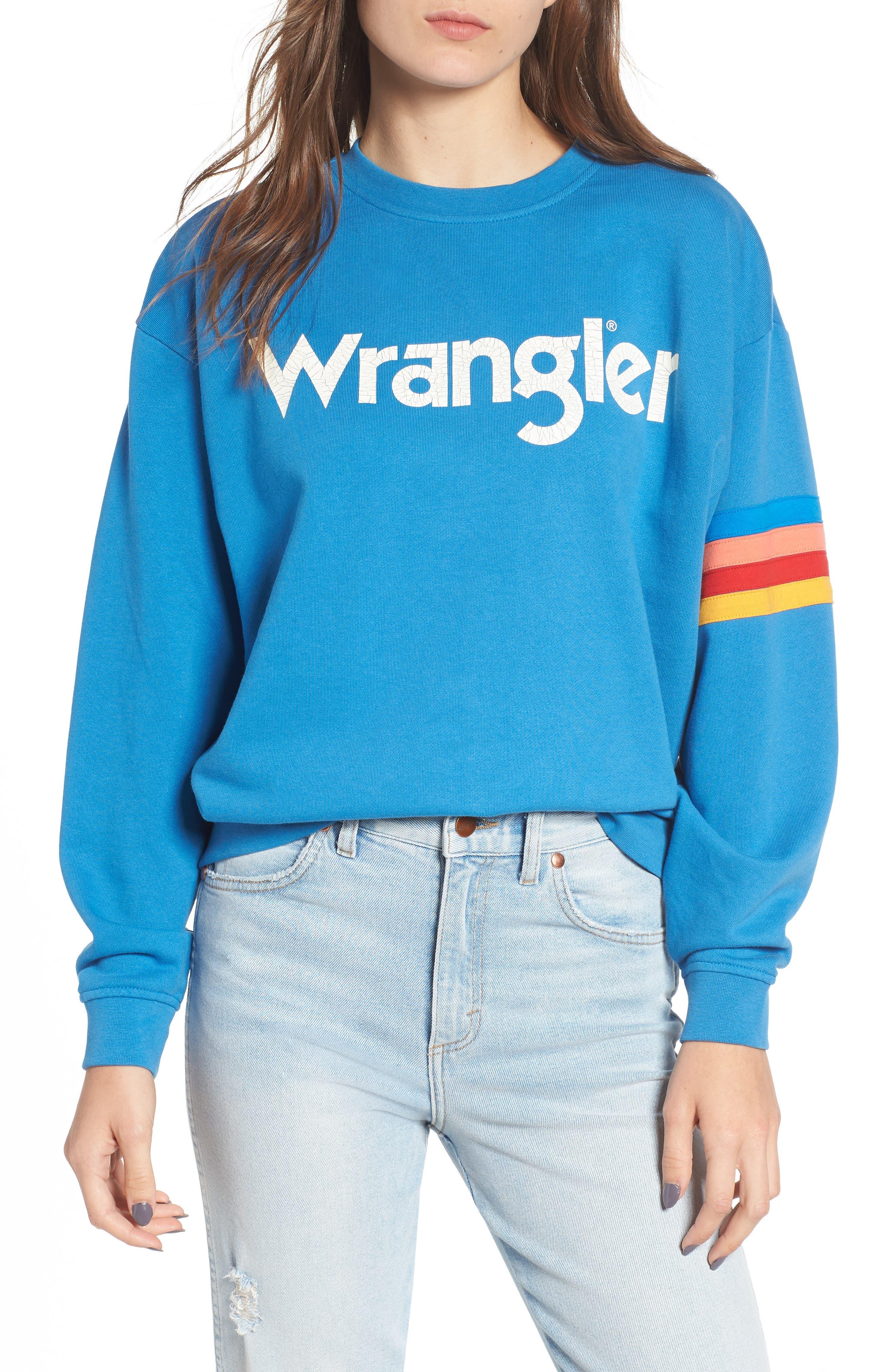 Kabel Graphic Sweatshirt,                             Main thumbnail 1, color,                             DEEP WATER
