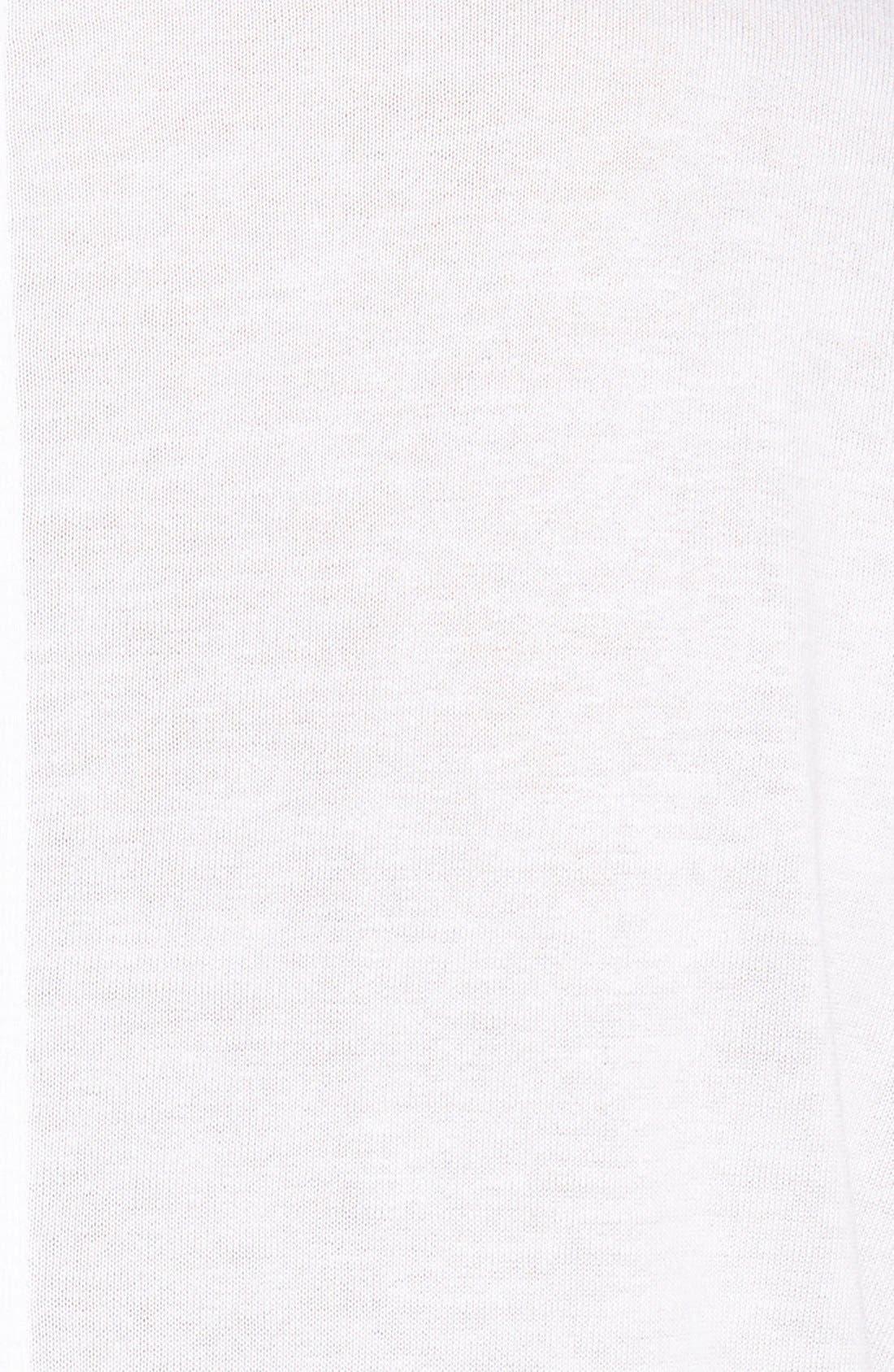 Short Sleeve V-Neck Tee,                             Alternate thumbnail 8, color,