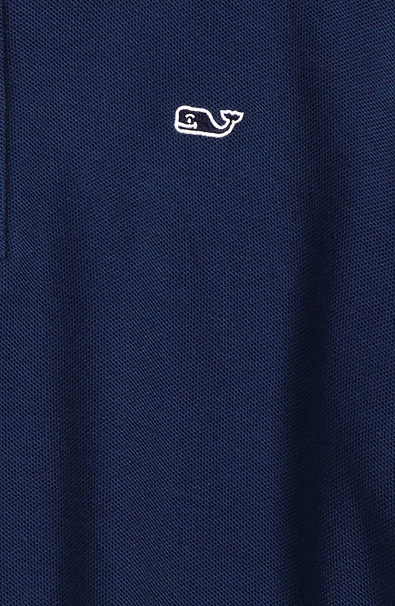 Quarter Zip Pullover,                             Alternate thumbnail 2, color,                             VINEYARD NAVY