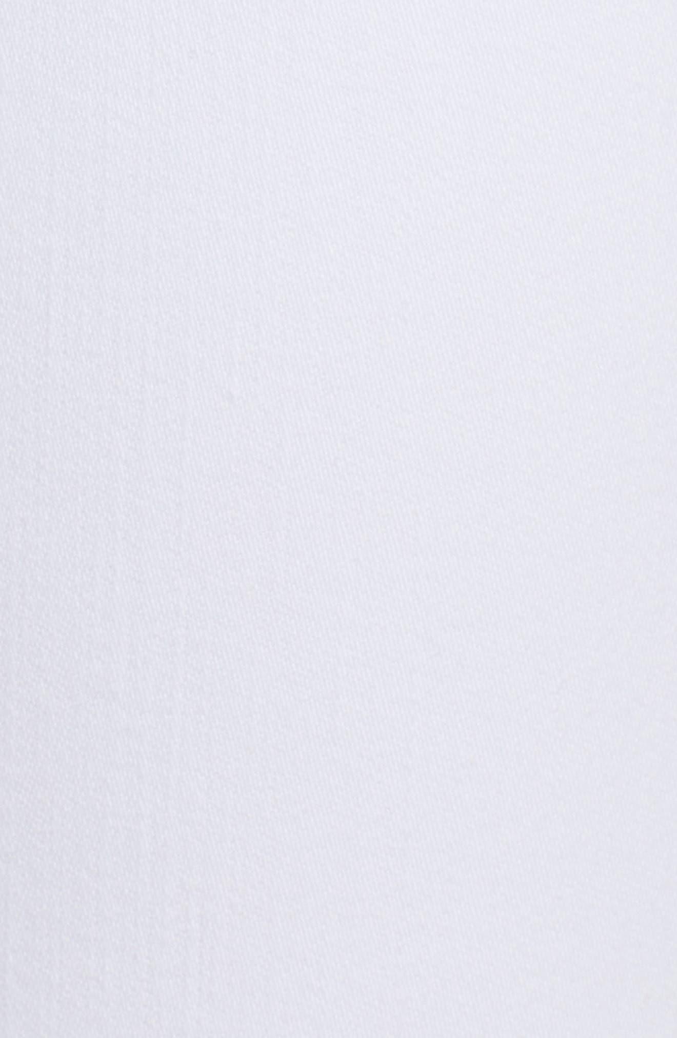 HUDSON JEANS,                             Collin Skinny Jeans,                             Alternate thumbnail 6, color,                             WHITE