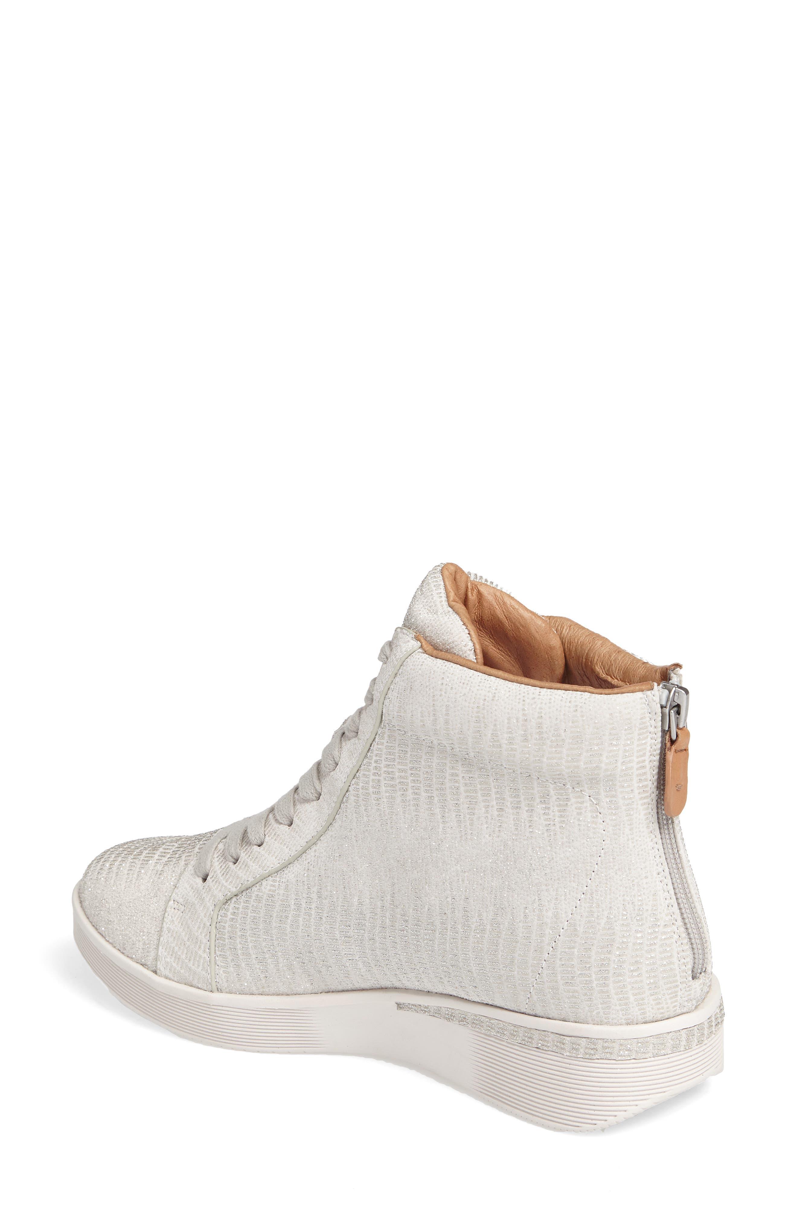 Helka High Top Sneaker,                             Alternate thumbnail 4, color,