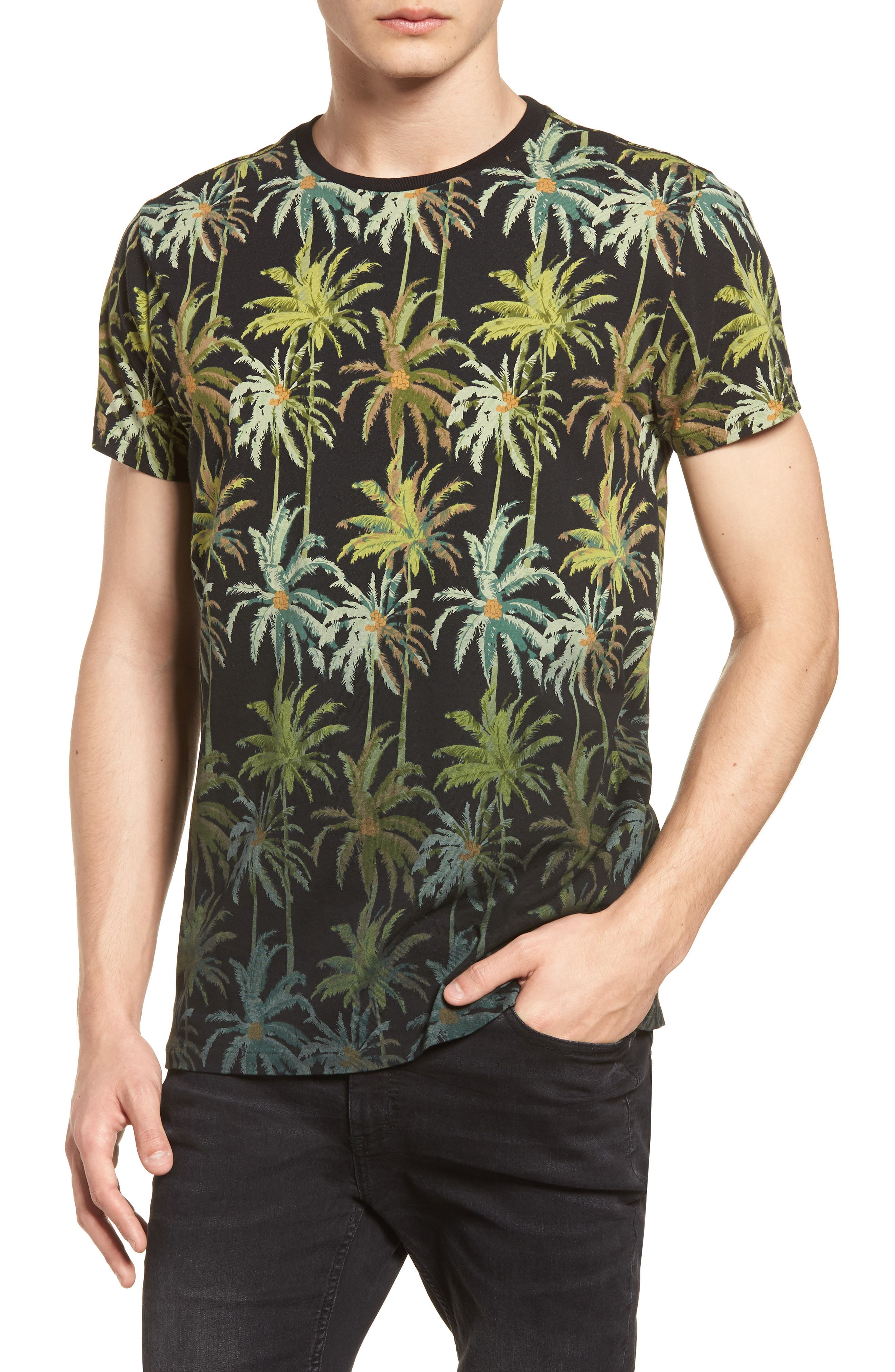 The Poolside Print T-Shirt,                             Main thumbnail 1, color,                             COMBO B